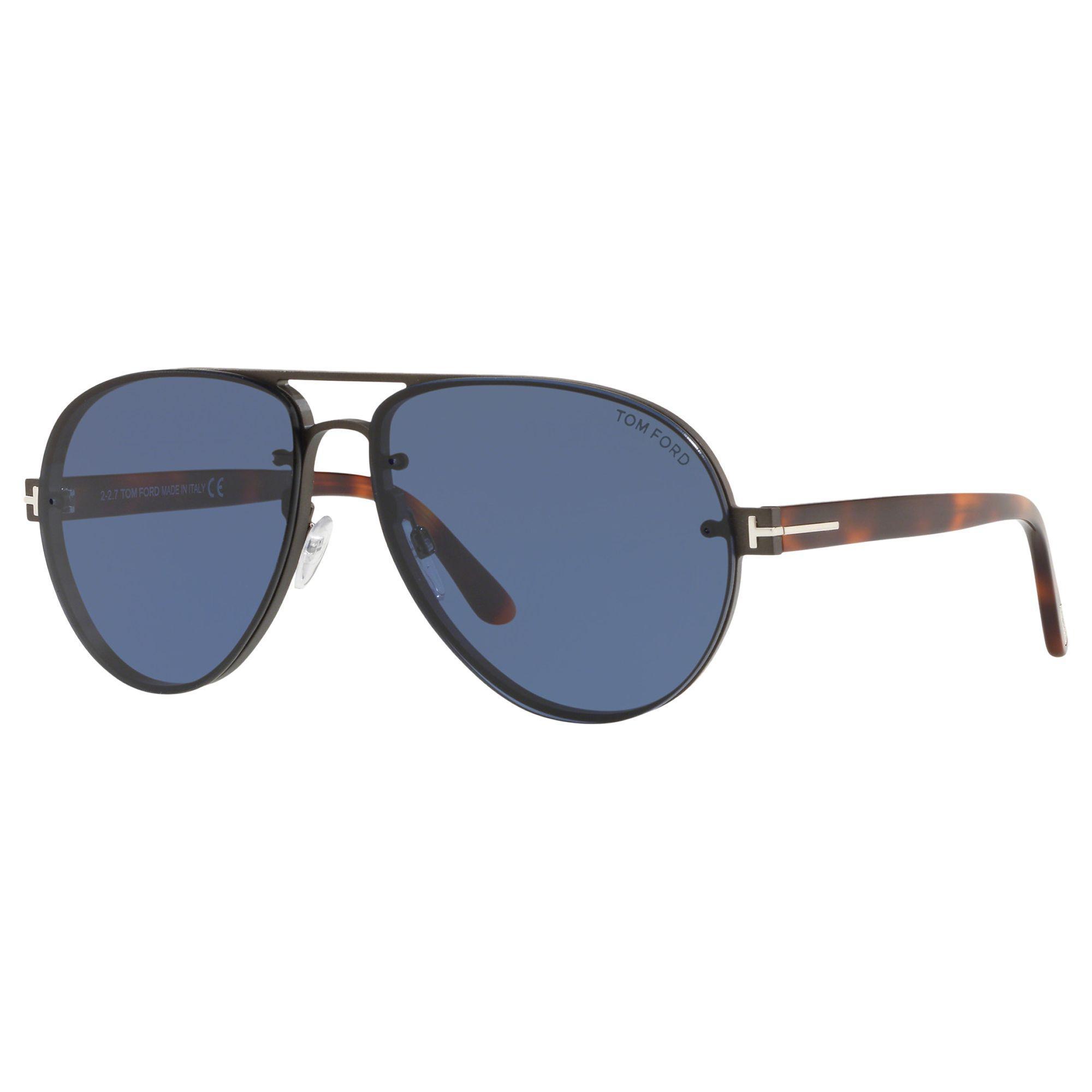 0073af1fe84 Tom Ford - Blue Ft0622 Men s Alexei-02 Aviator Sunglasses for Men - Lyst.  View fullscreen
