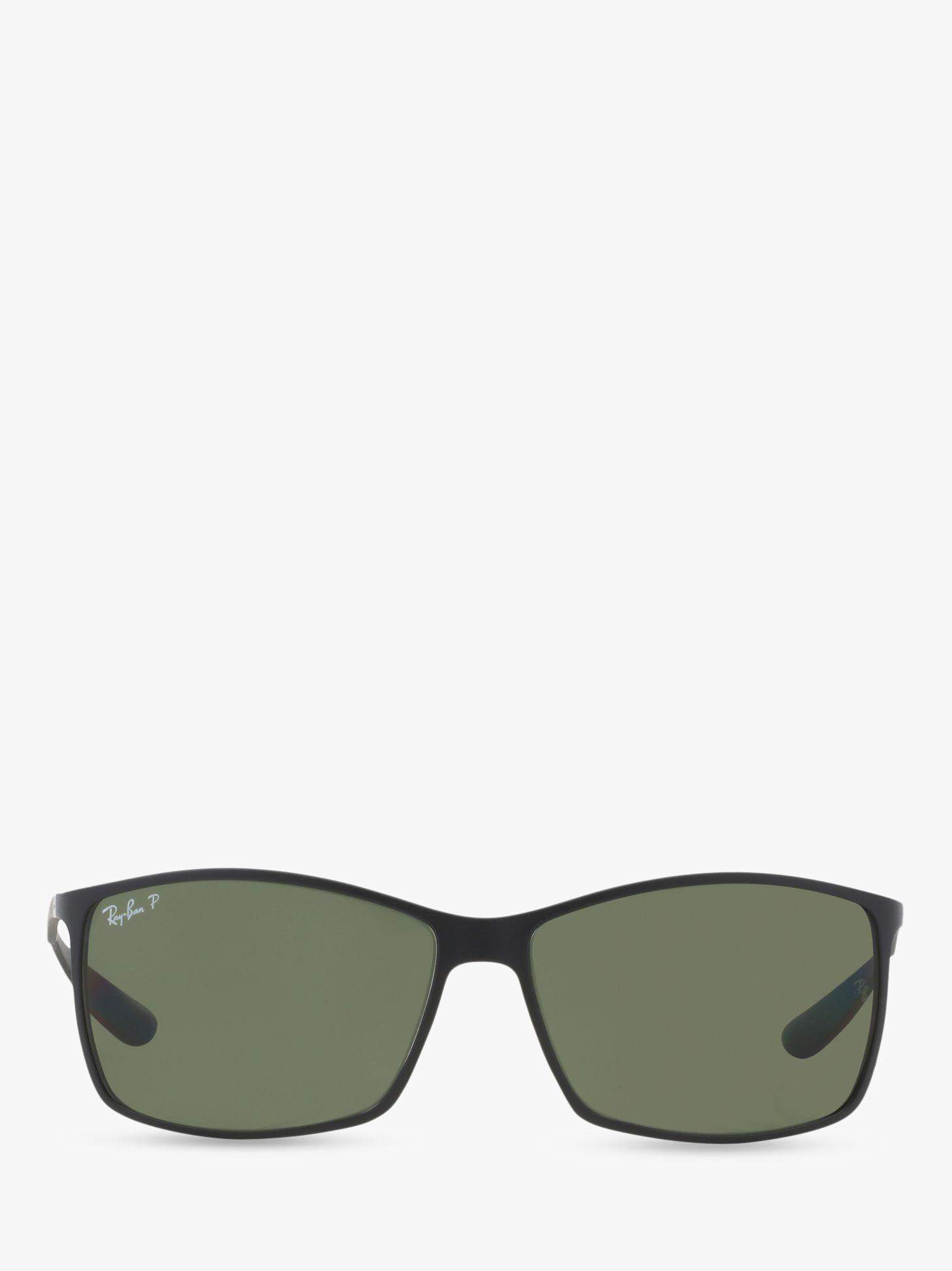 6c939bf7da Ray-Ban - Black Rb4179 Men s Liteforce Tech Polarised Rectangular  Sunglasses for Men - Lyst. View fullscreen