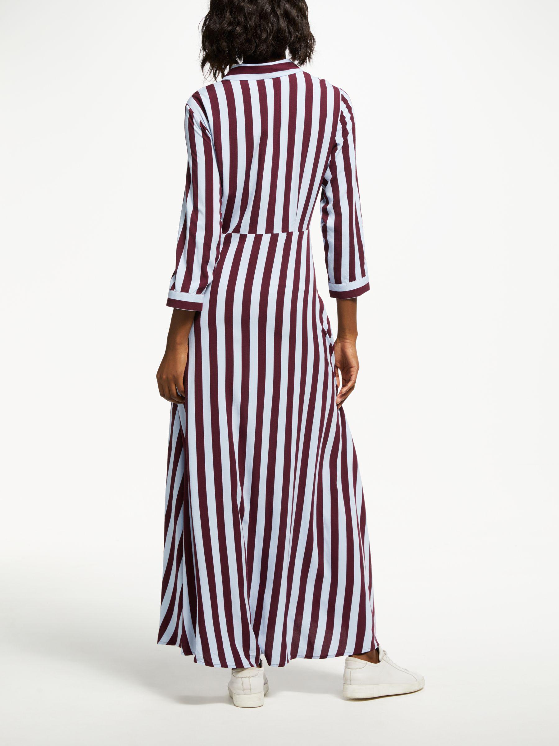 7df41645254635 Y.A.S Savanna Long Shirt Dress in Blue - Lyst