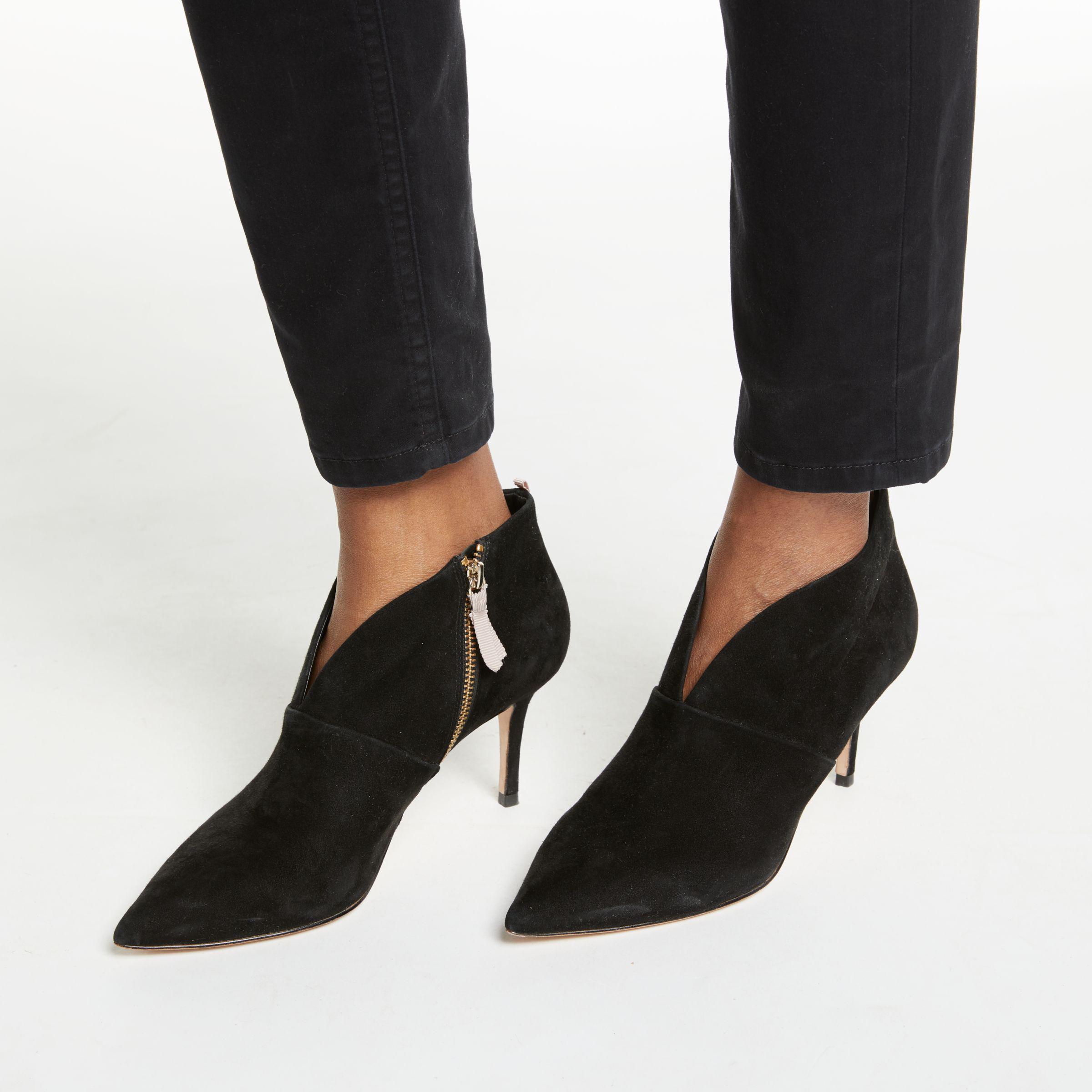 1334c75d5bd John Lewis Boden Alexa Stiletto Heeled Ankle Boots in Black - Lyst
