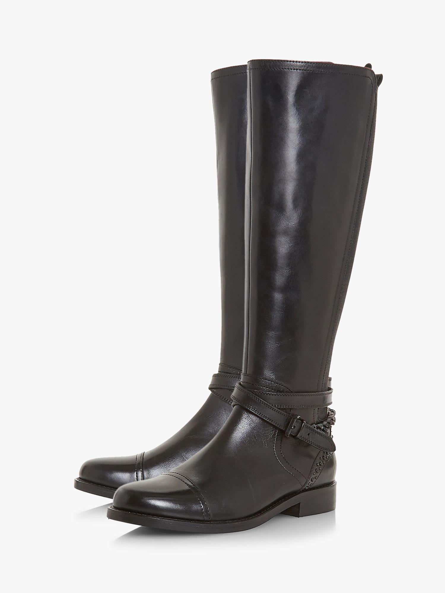 6869c0856cd Bertie Taykoda Knee High Boots in Black - Lyst