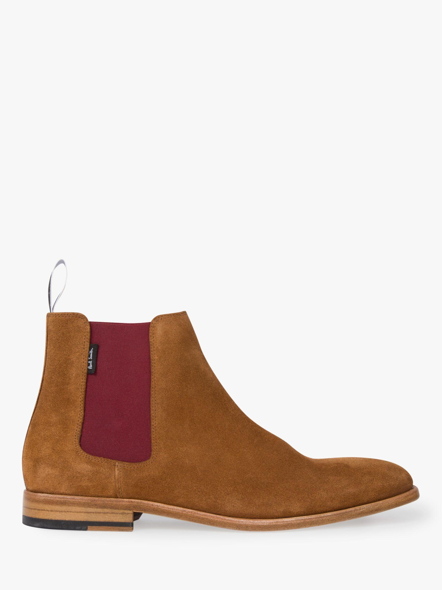 88157b9a75f Paul Smith - Brown Ps Gerald Suede Chelsea Boots for Men - Lyst. View  fullscreen