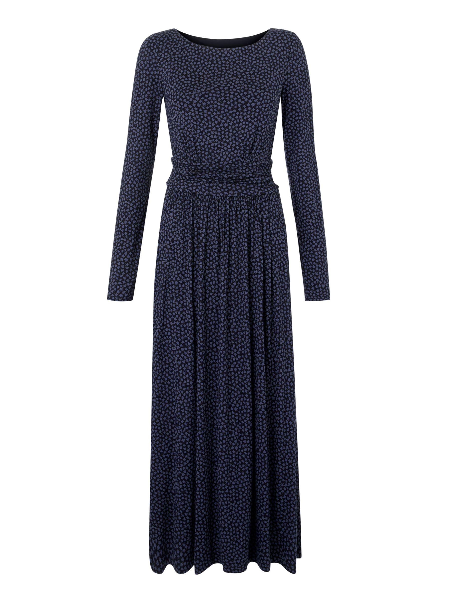 8e377fff59a Boden Lucille Jersey Dress in Black - Lyst