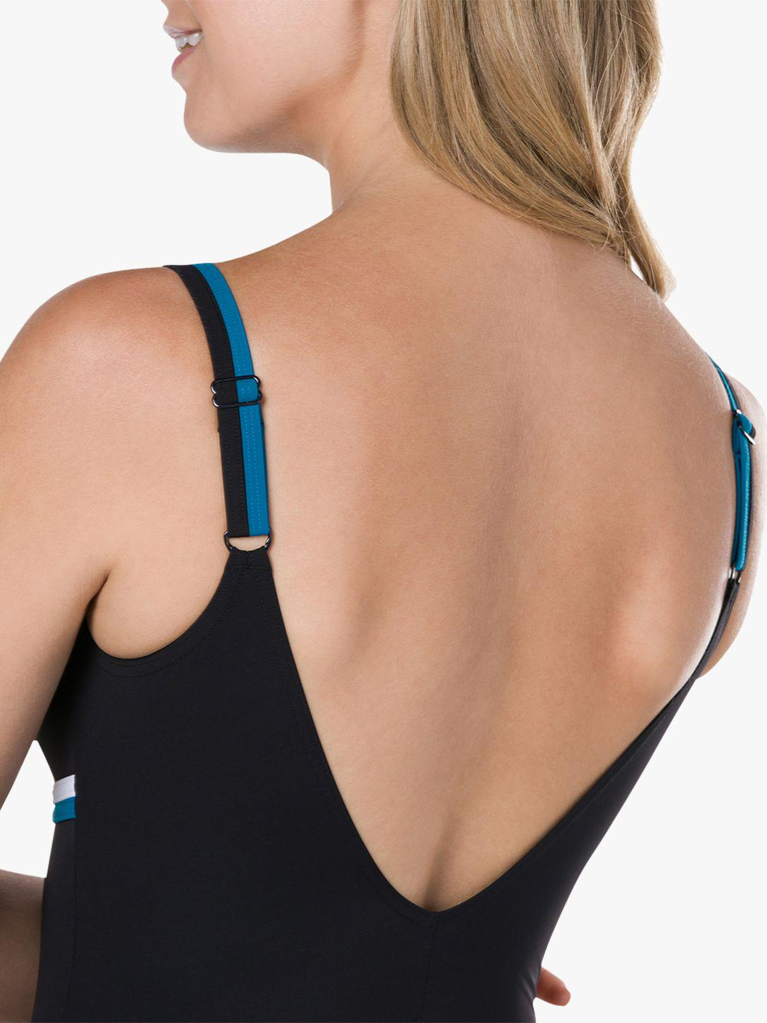 0edf1f23fe22f Speedo - Black Contour Luxe Swimsuit - Lyst. View fullscreen