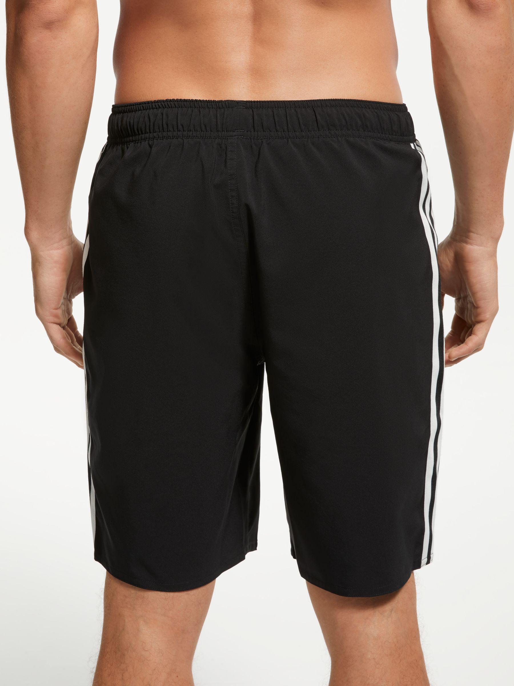 2f2000ab30 adidas 3-stripe Swim Shorts in Black for Men - Lyst