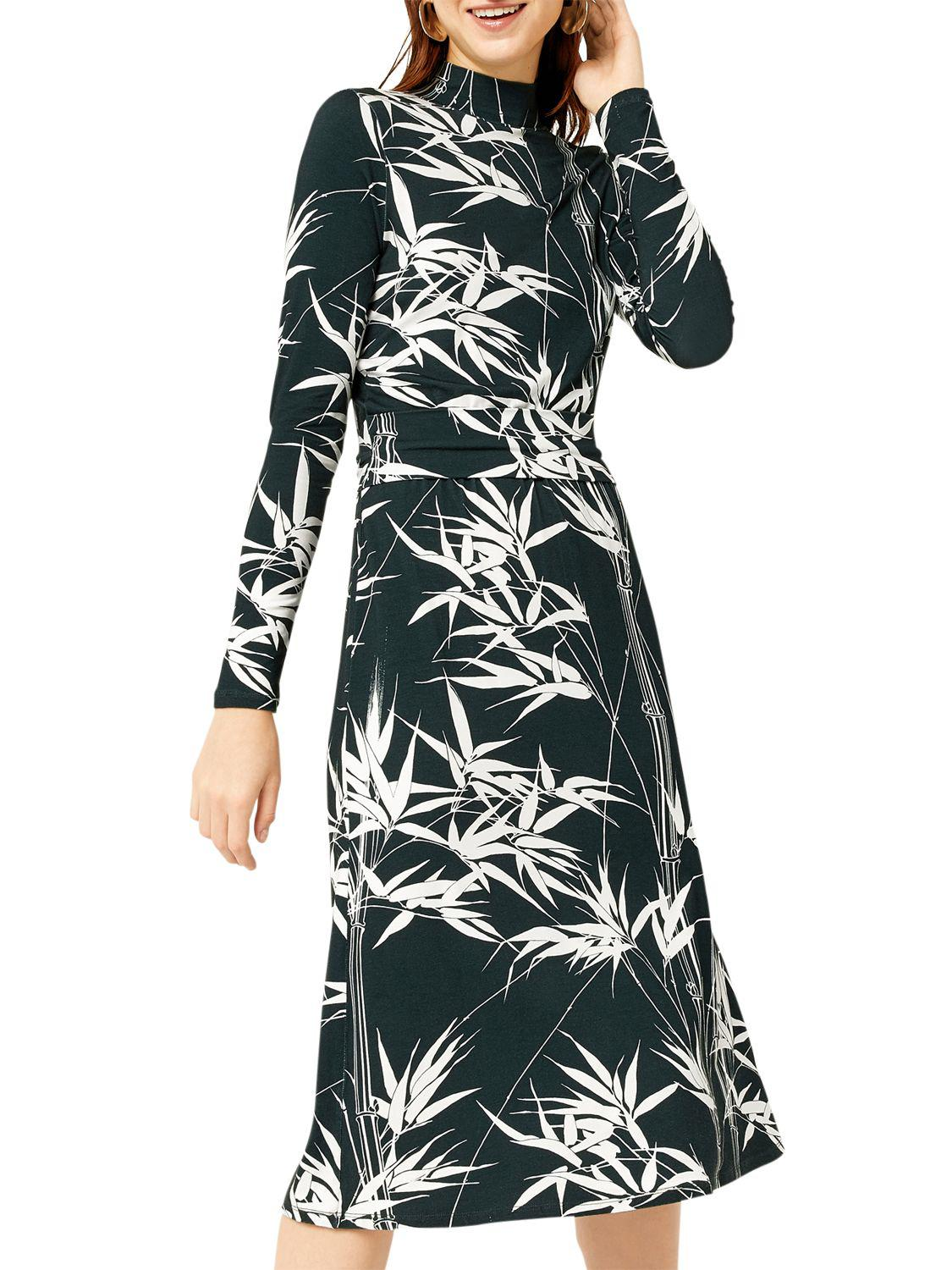 Sneakernews Sale Online Barbican Collection Climbing Bamboo Midi Dress - Green Warehouse Clearance Choice Quality Free Shipping Outlet FNdgiI
