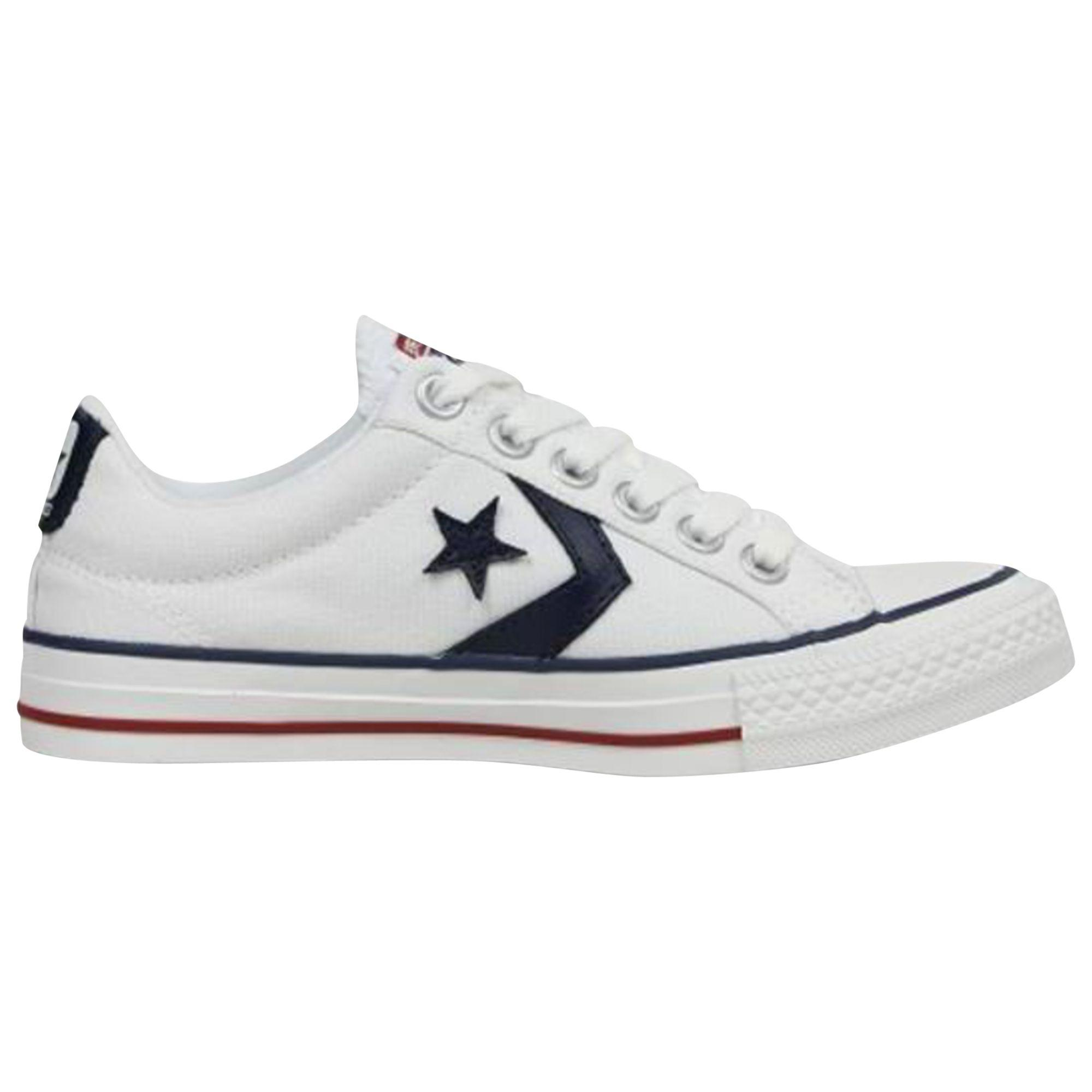Converse. Men s White Star Player Canvas Trainers. £40 From John Lewis and  Partners 776363343