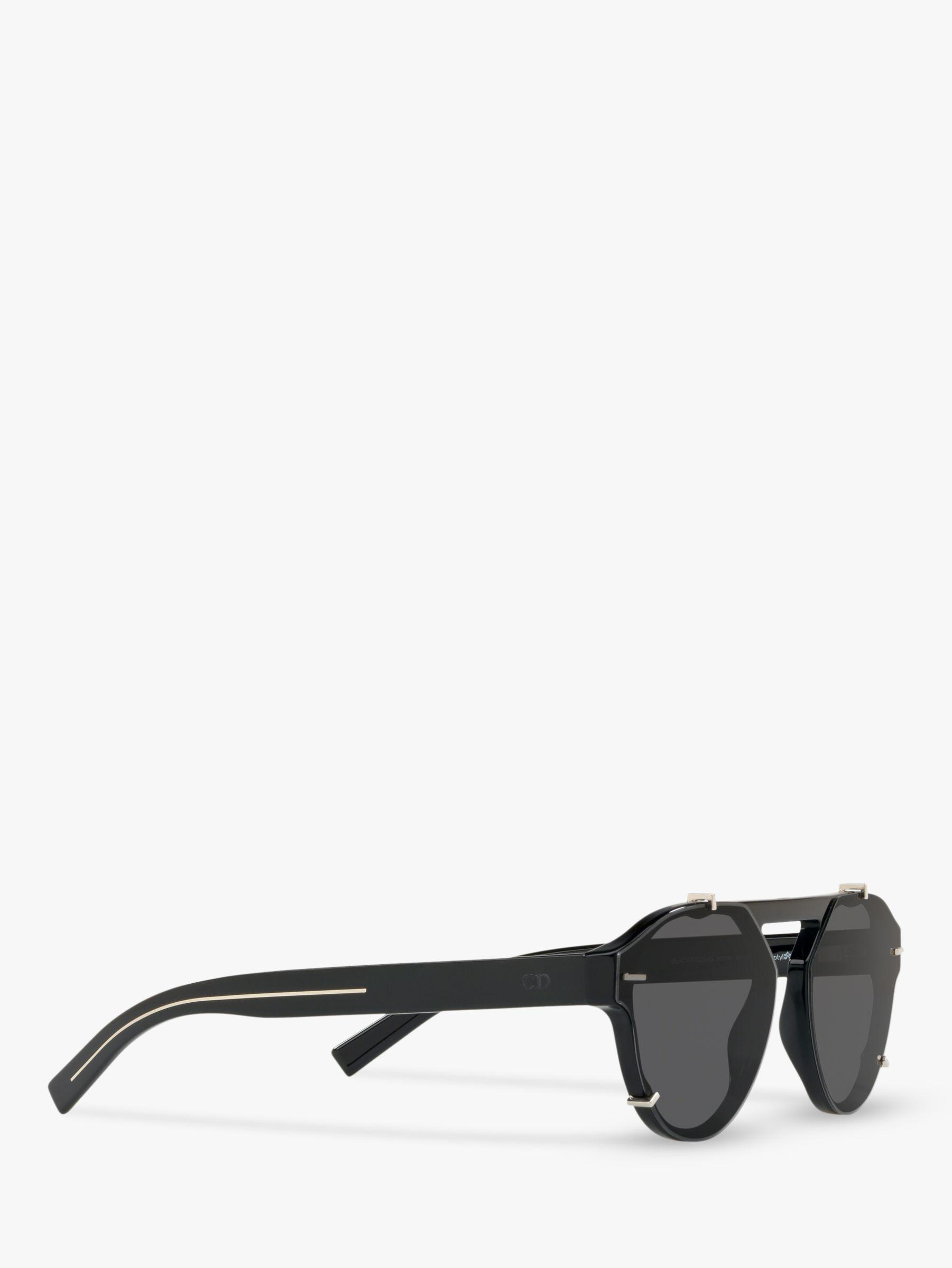 dior blacktie254s men s oval sunglasses in black for men lyst American Flag Oakley Sunglasses view fullscreen