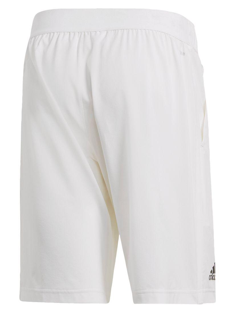 pretty nice 18680 0061c adidas Advantage Polo Shorts in White for Men - Lyst