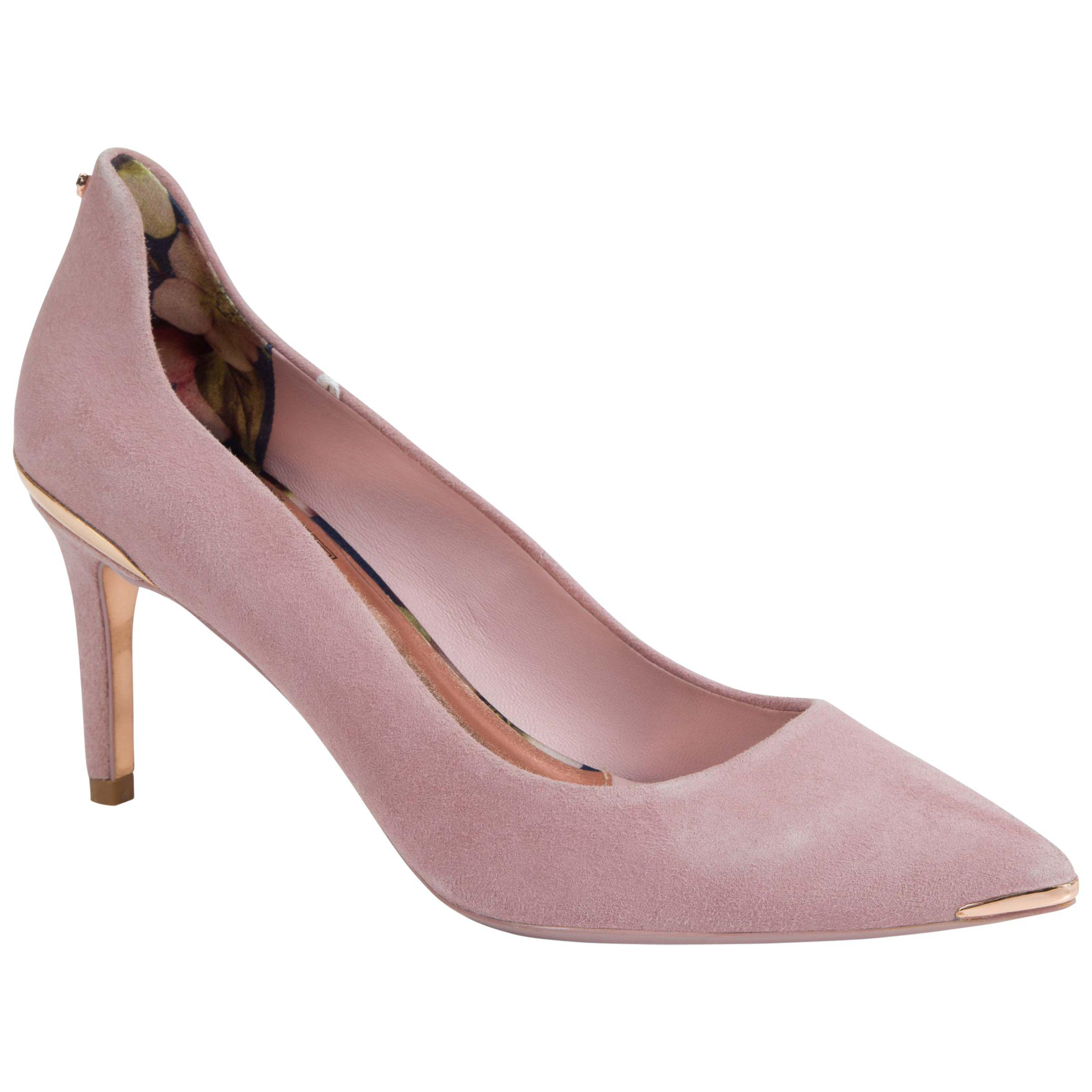 ff572ac29f5 Ted Baker Vyixyns Suede Court Shoes in Pink - Lyst