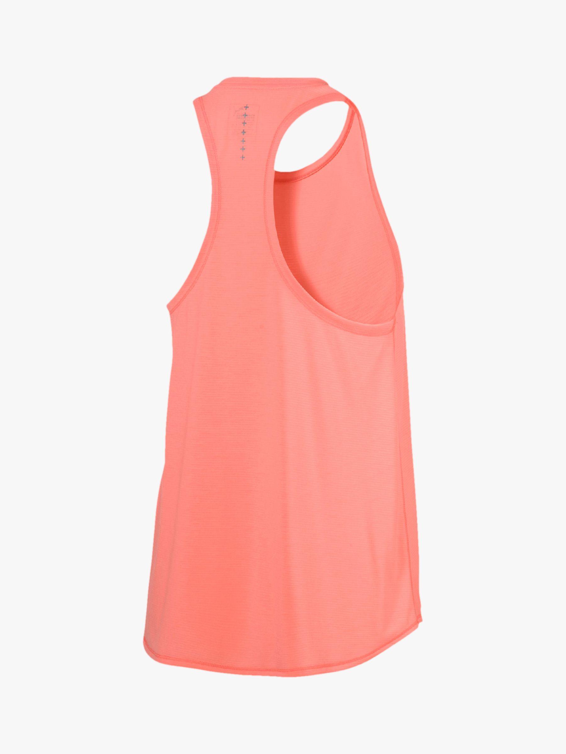 6f56d574 Puma Ignite Mono Running Tank Top in Pink - Lyst
