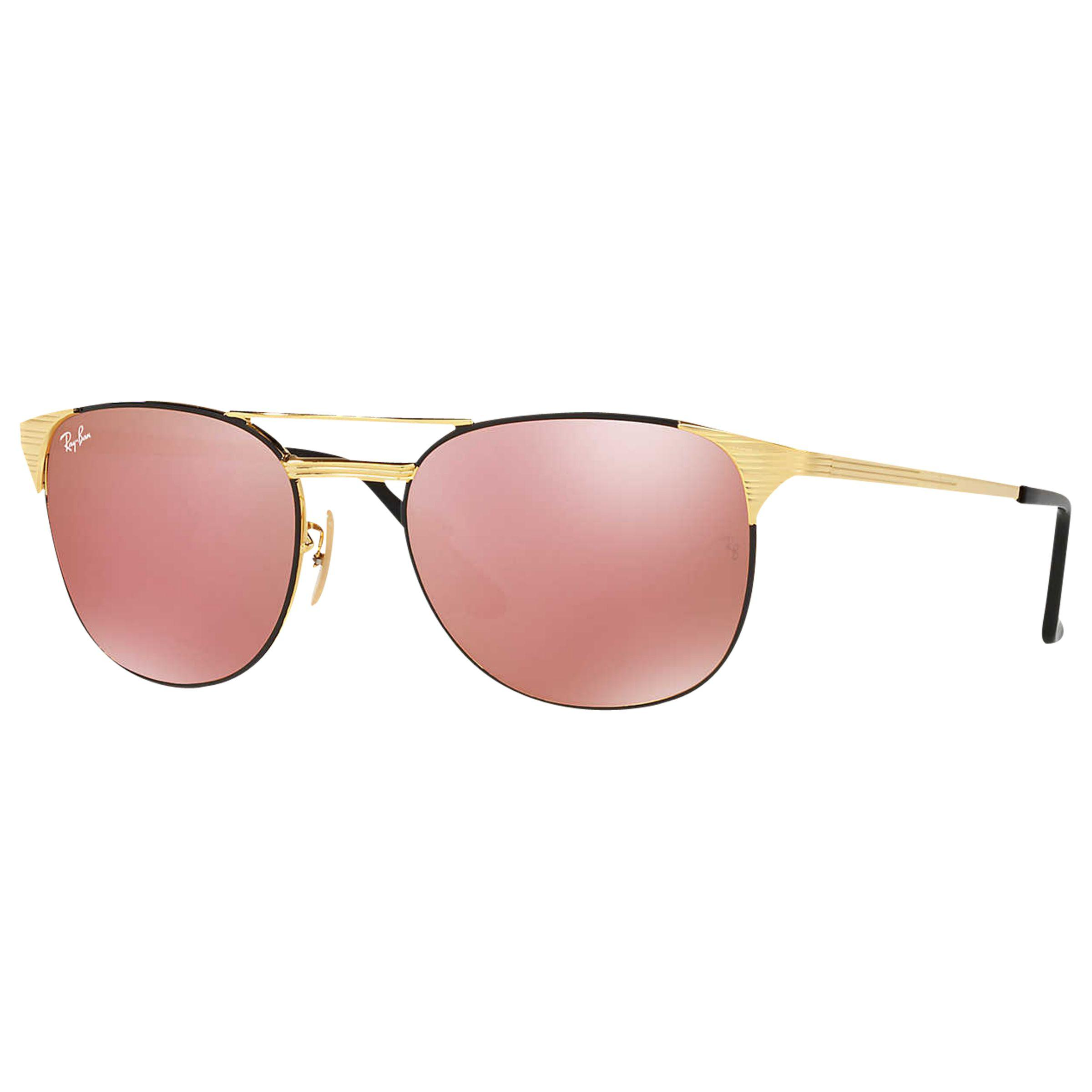 c7a842a7df Ray-Ban Signet Square Mirrored Sunglasses in Pink for Men - Lyst
