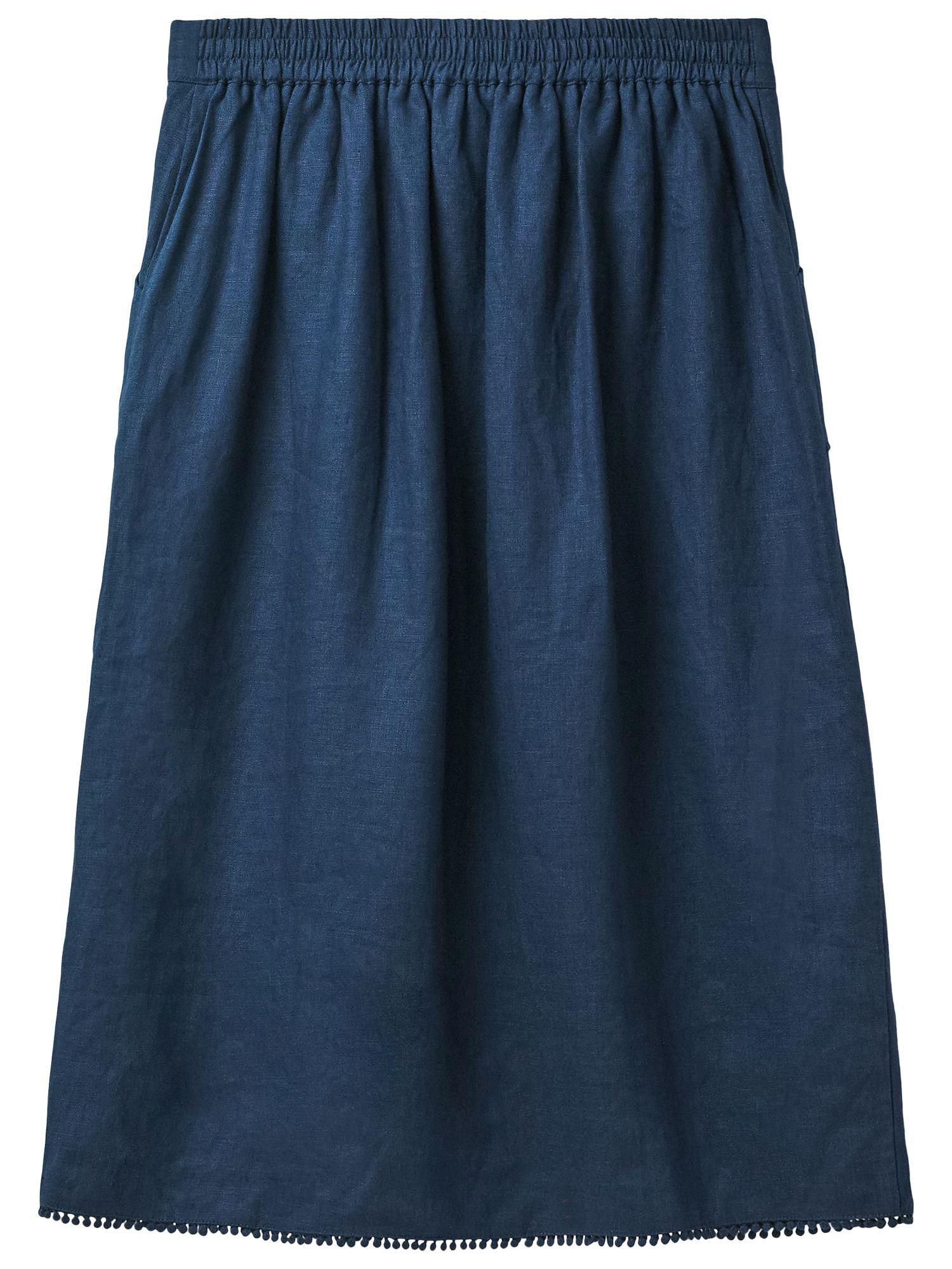 5cd04d04baf5 White Stuff Linen Portia Skirt in Blue - Lyst