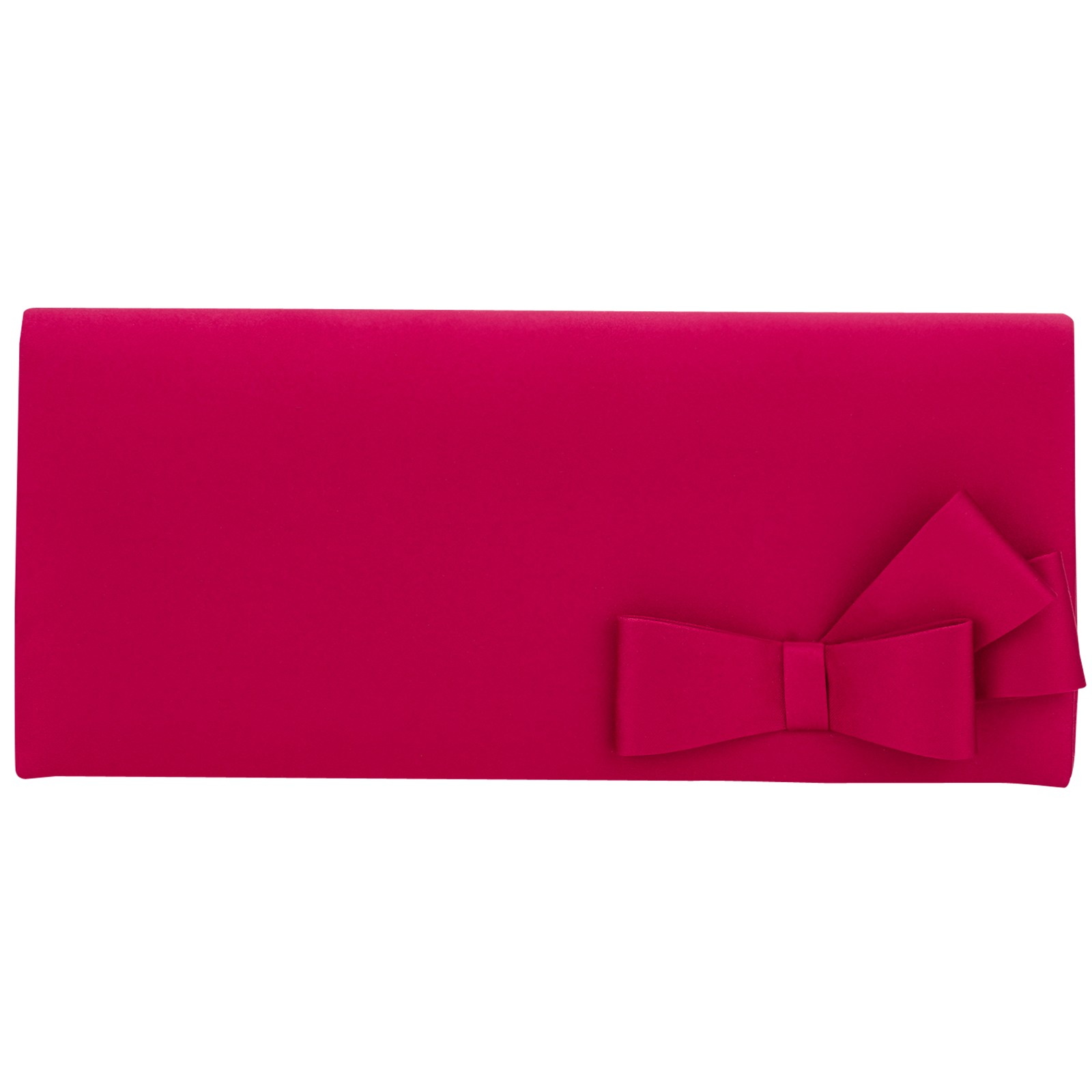 Jacques Vert Bow Trim Clutch Bag In Pink Lyst