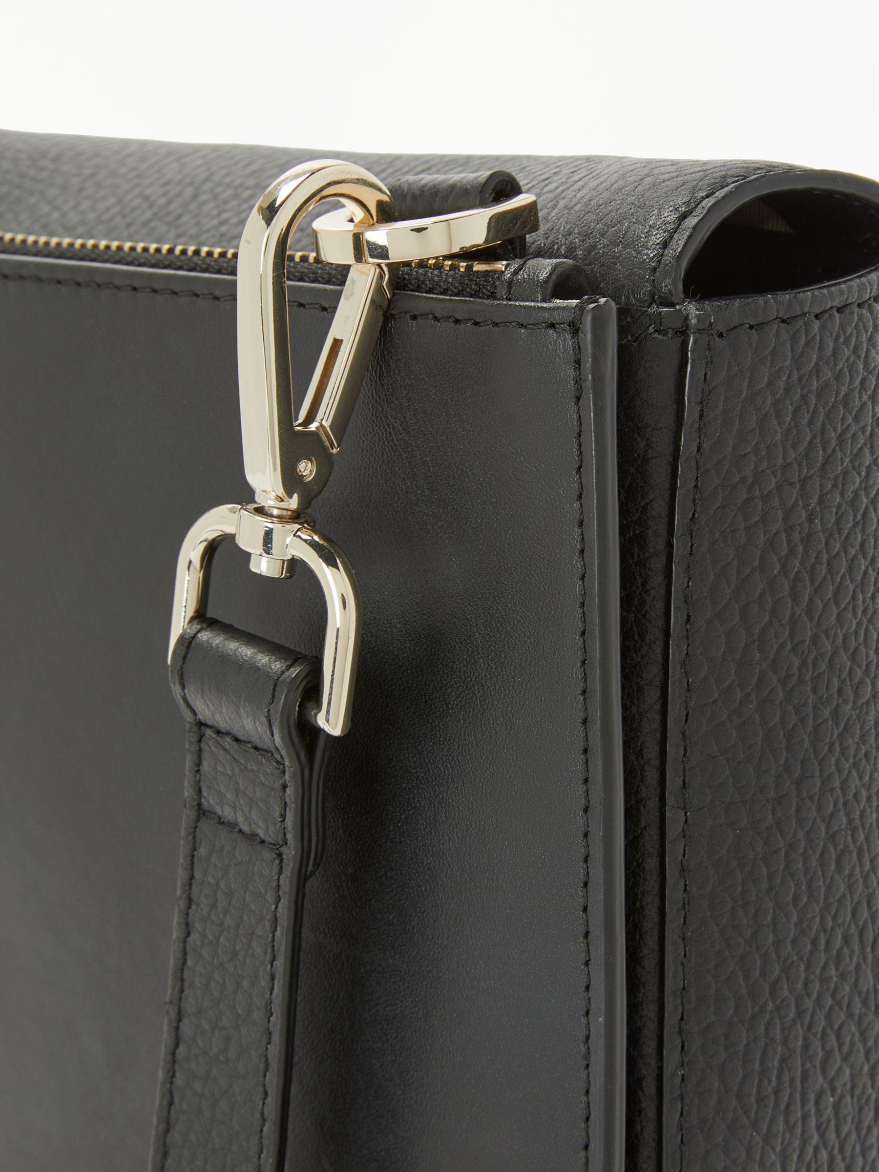 f350c693db95 Modalu Sofia Leather Cross Body Bag in Black - Lyst