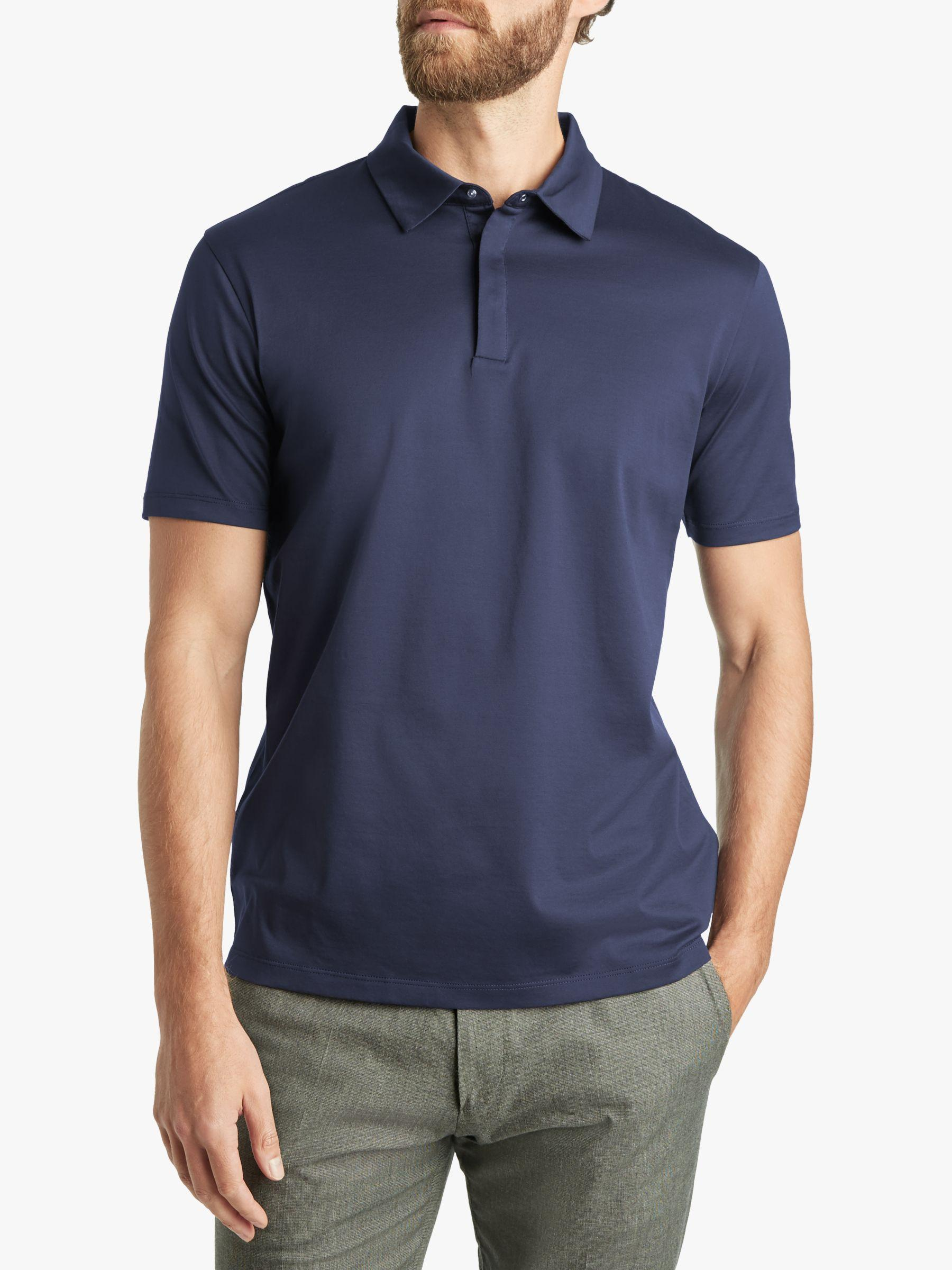 f00d5a4a5 BOSS Hugo By Drustan Paperclip Detail Polo Shirt in Blue for Men - Save 22%  - Lyst