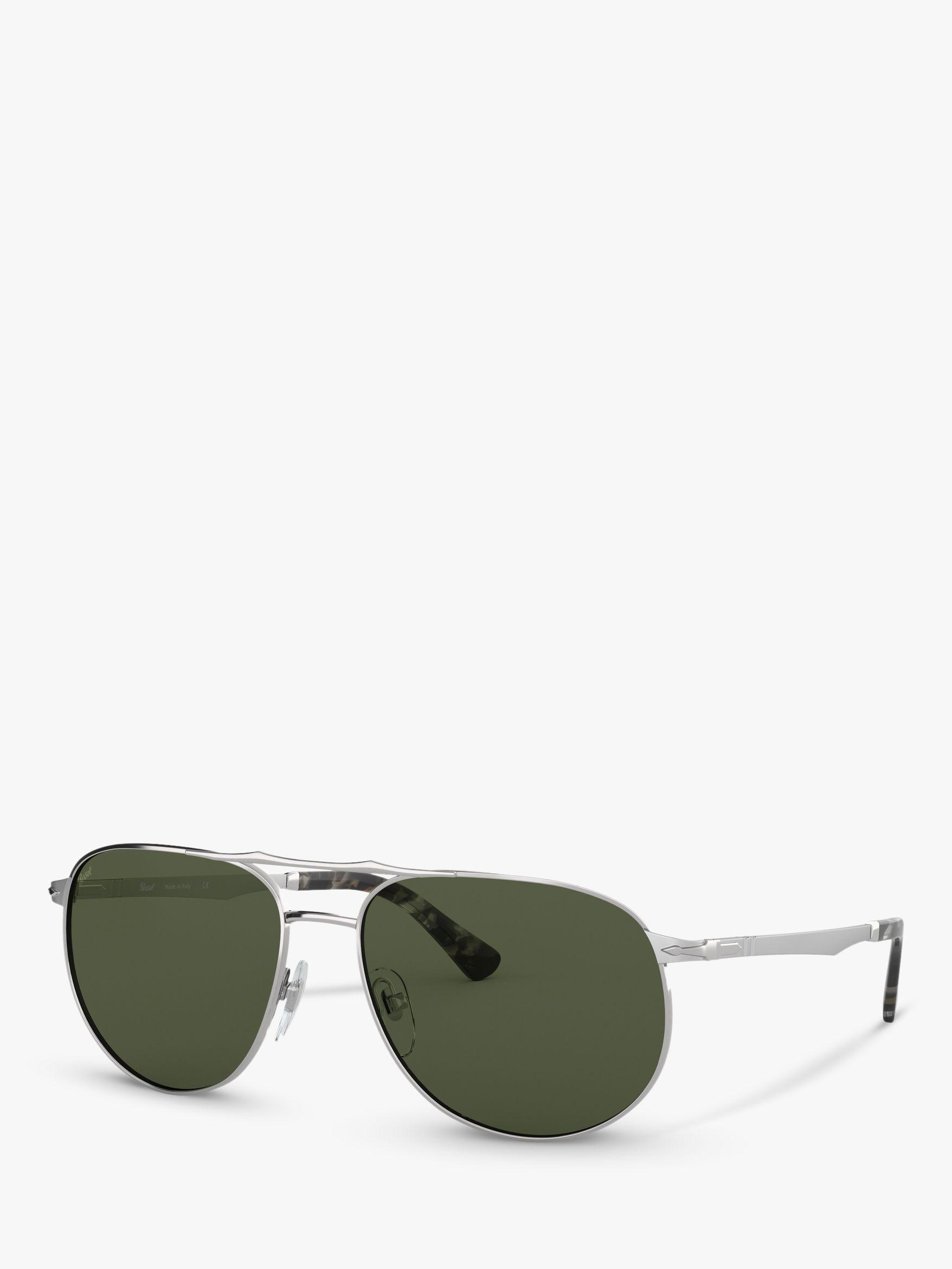 963f84588a50 Persol. Green Po2455s Men's Oval Sunglasses. £214 From John Lewis and  Partners