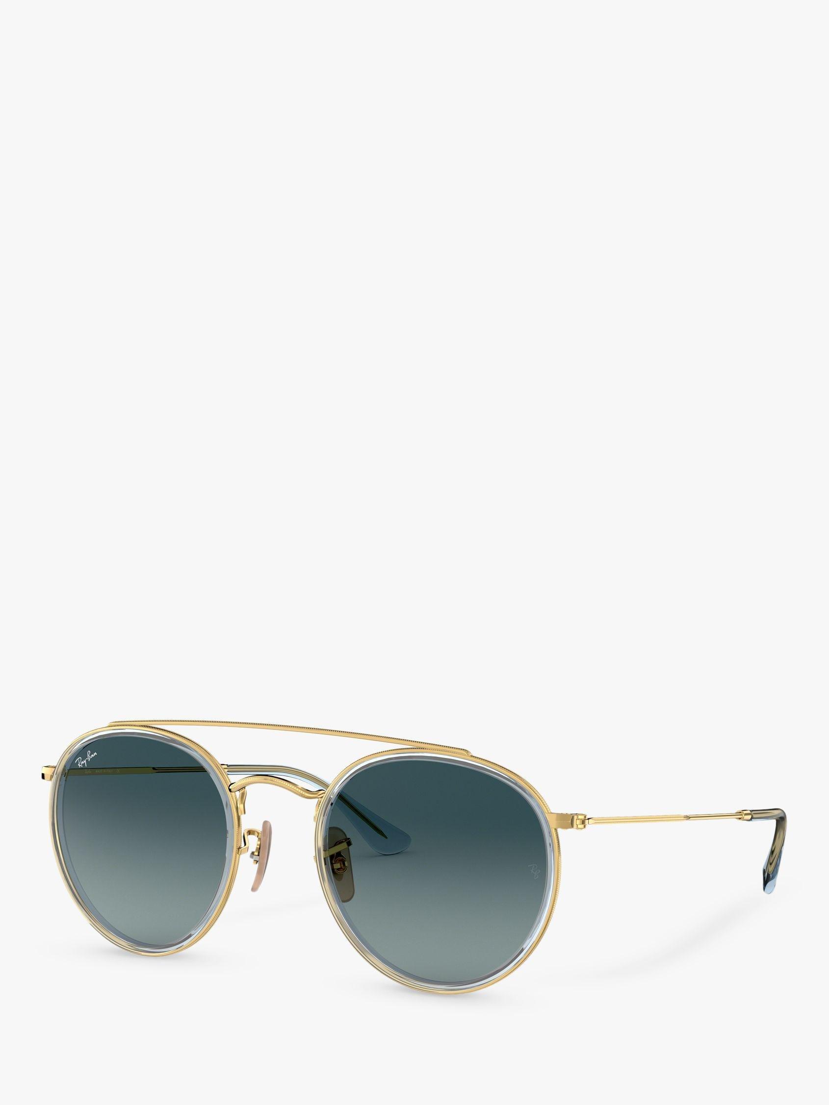 167dd94e4a3 Ray-Ban Rb3647n Unisex Double Bridge Oval Sunglasses for Men - Lyst