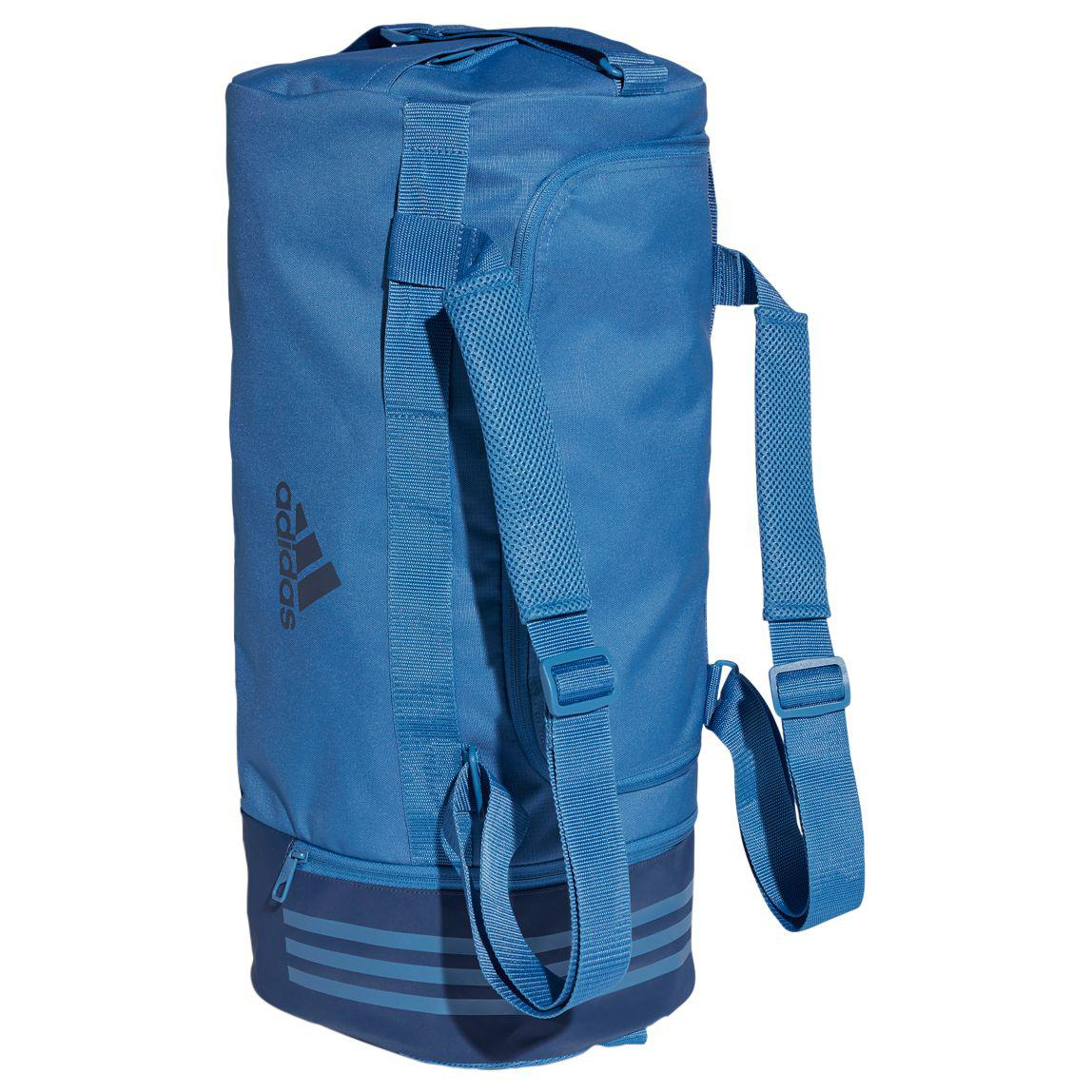87f96c61a593 adidas Convertible 3-stripes Duffle Bag in Blue for Men - Lyst