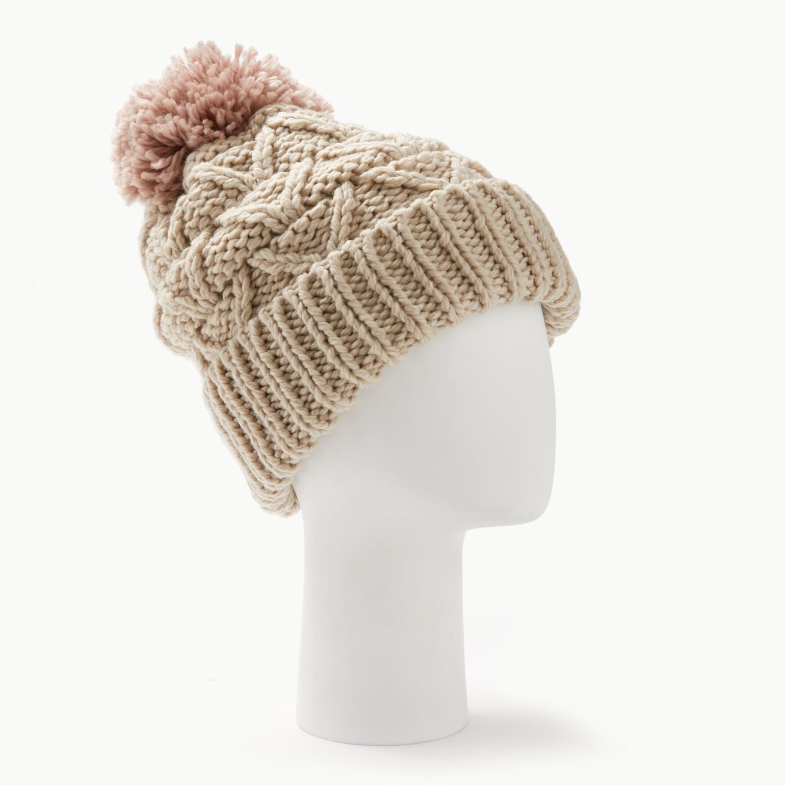 b9082c0fcd10f5 Barbour Cragside Bobble Hat in Pink - Lyst