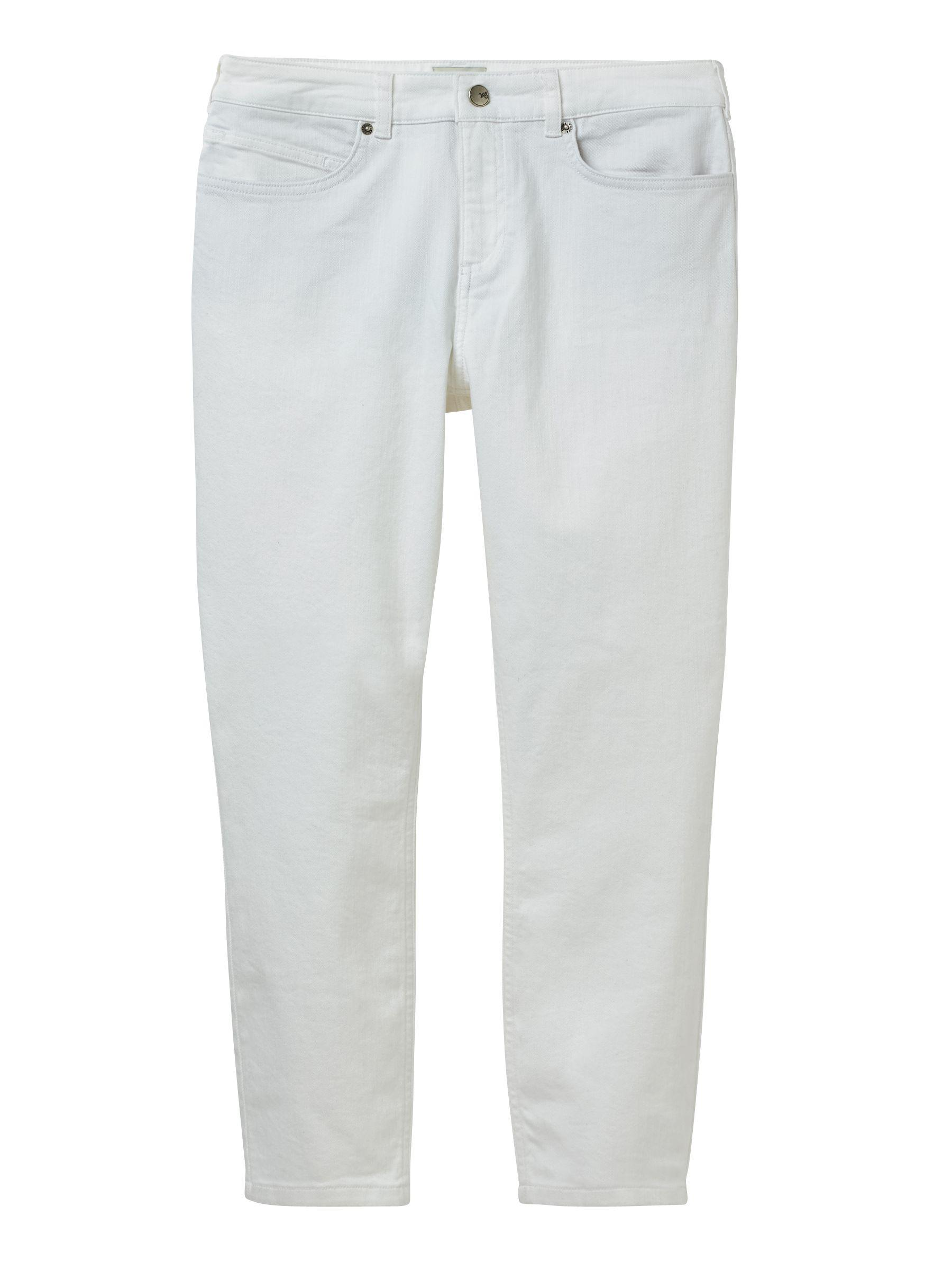 Ash White Lyst Jeans Straight Save Stuff Crop 0 In 32 wPCqOP