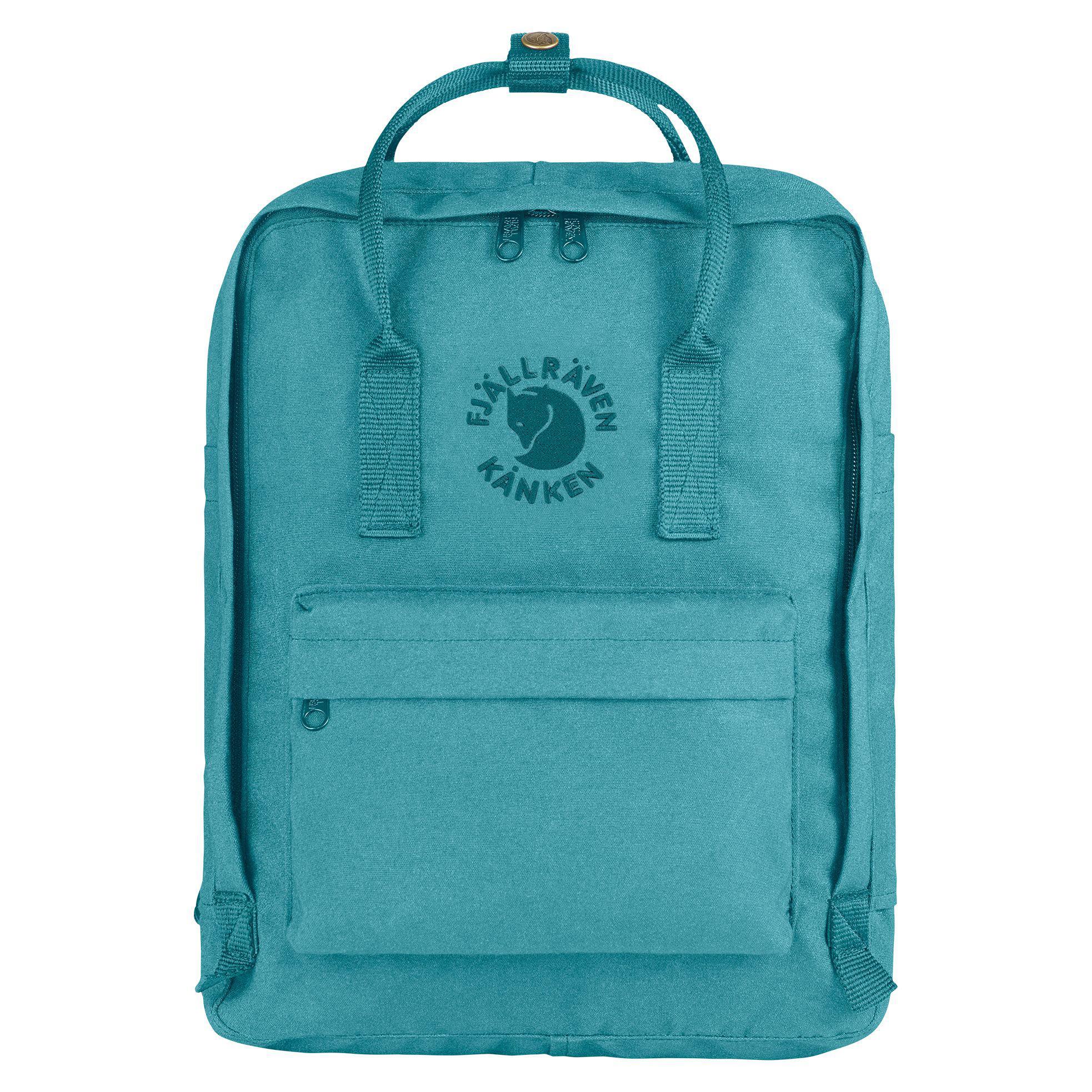90942ed79f25f Fjallraven Re Kanken Backpack in Blue - Lyst