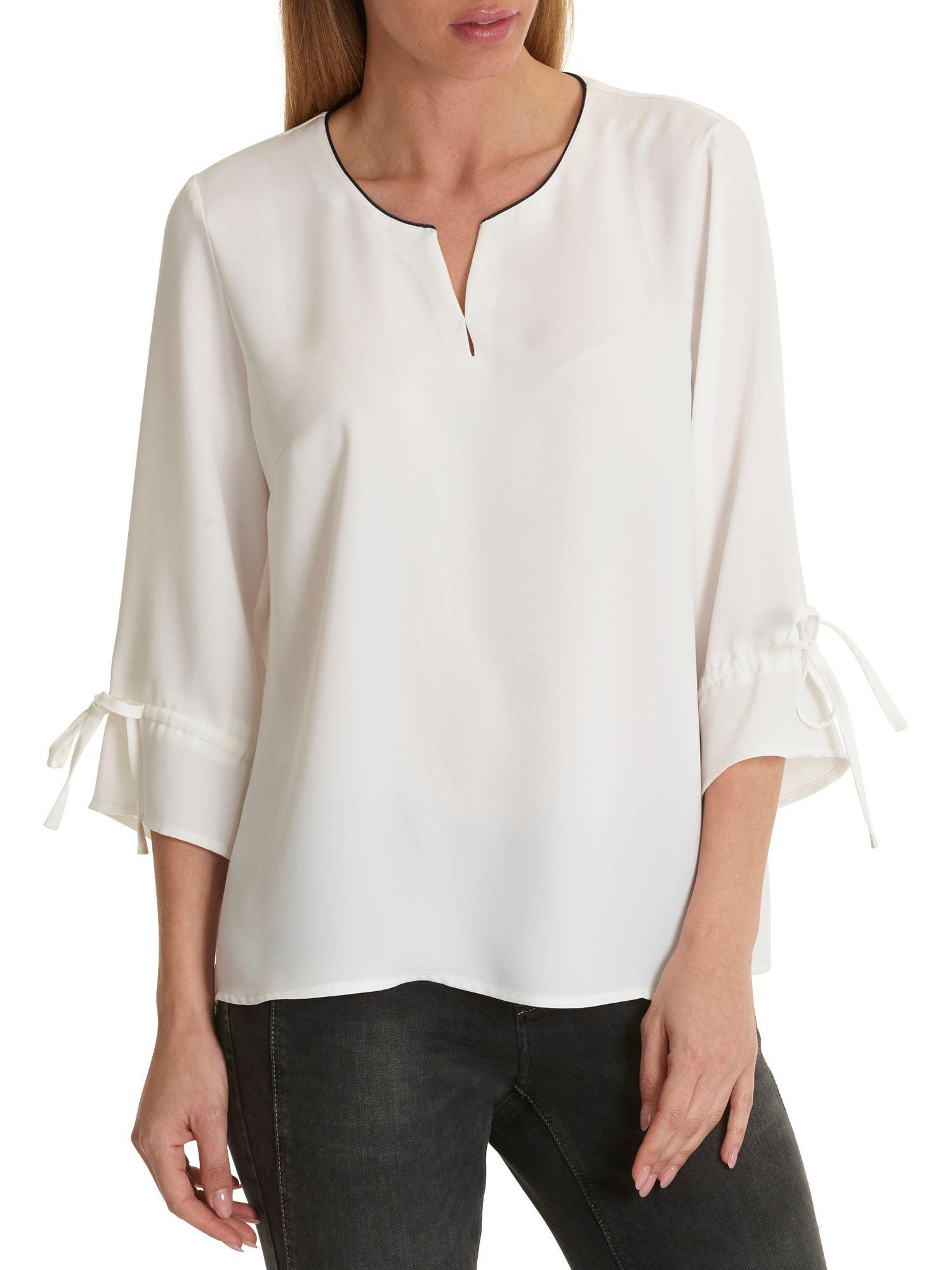 d1ce9bf3ff42c Betty Barclay Crepe Blouse in White - Save 14.285714285714292% - Lyst