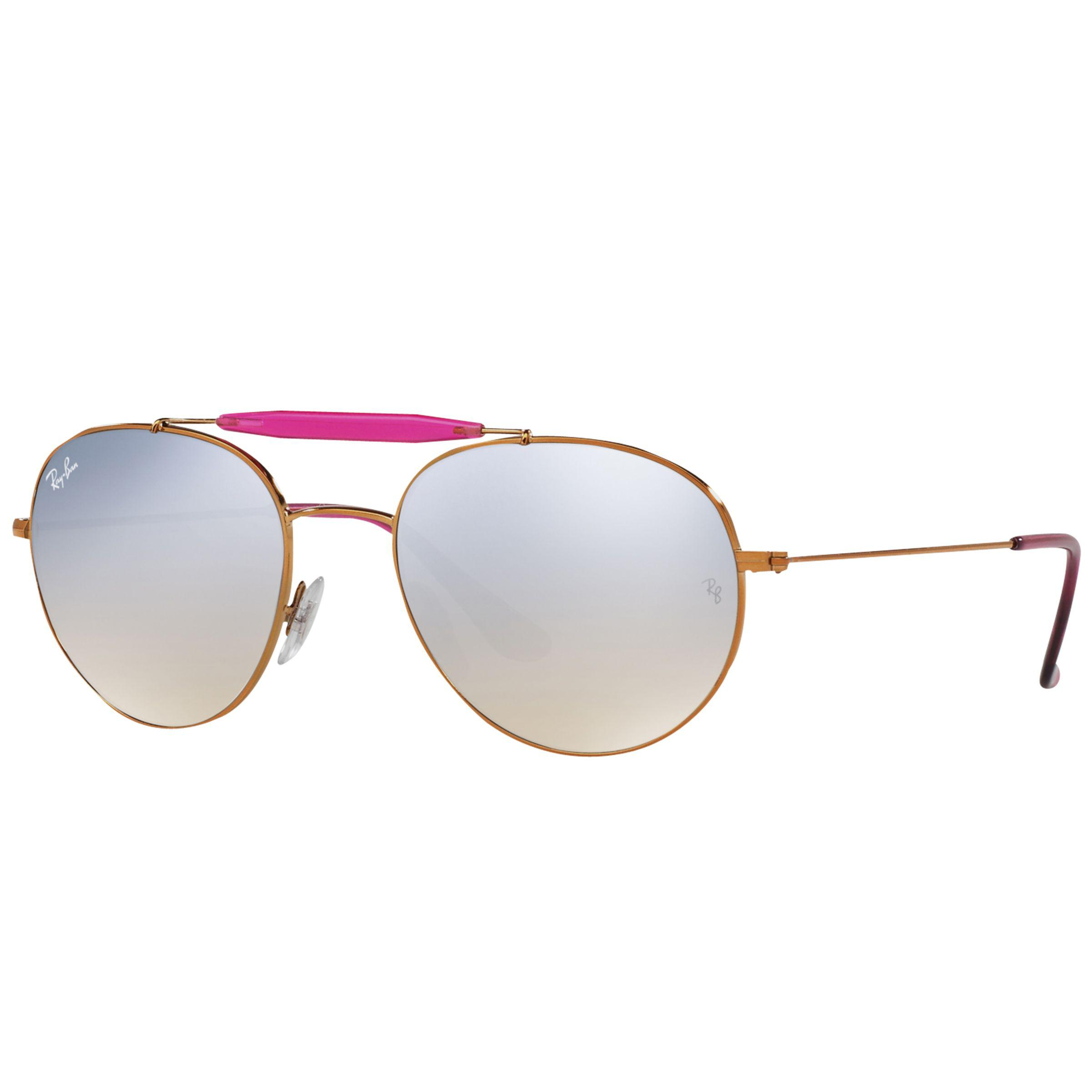 69398291128b7 Ray-Ban Rb3540 Oval Sunglasses in Metallic - Lyst
