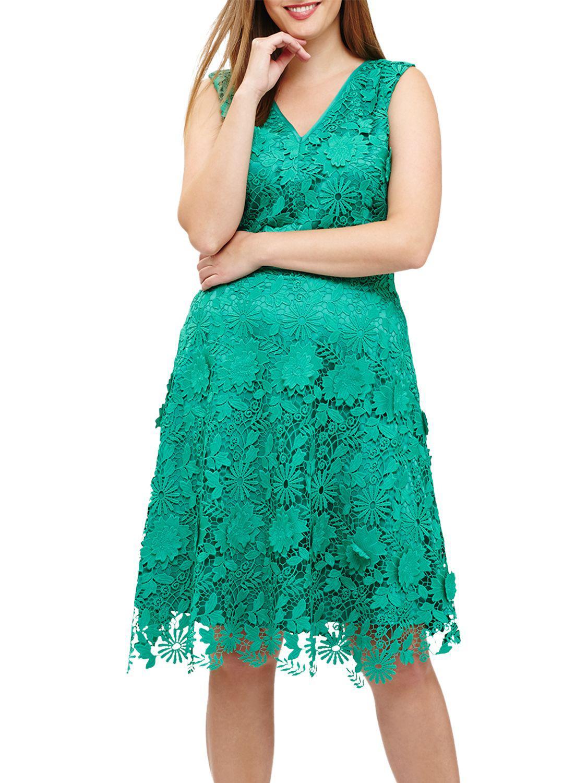 Lyst - Studio 8 Isabella Dress in Green