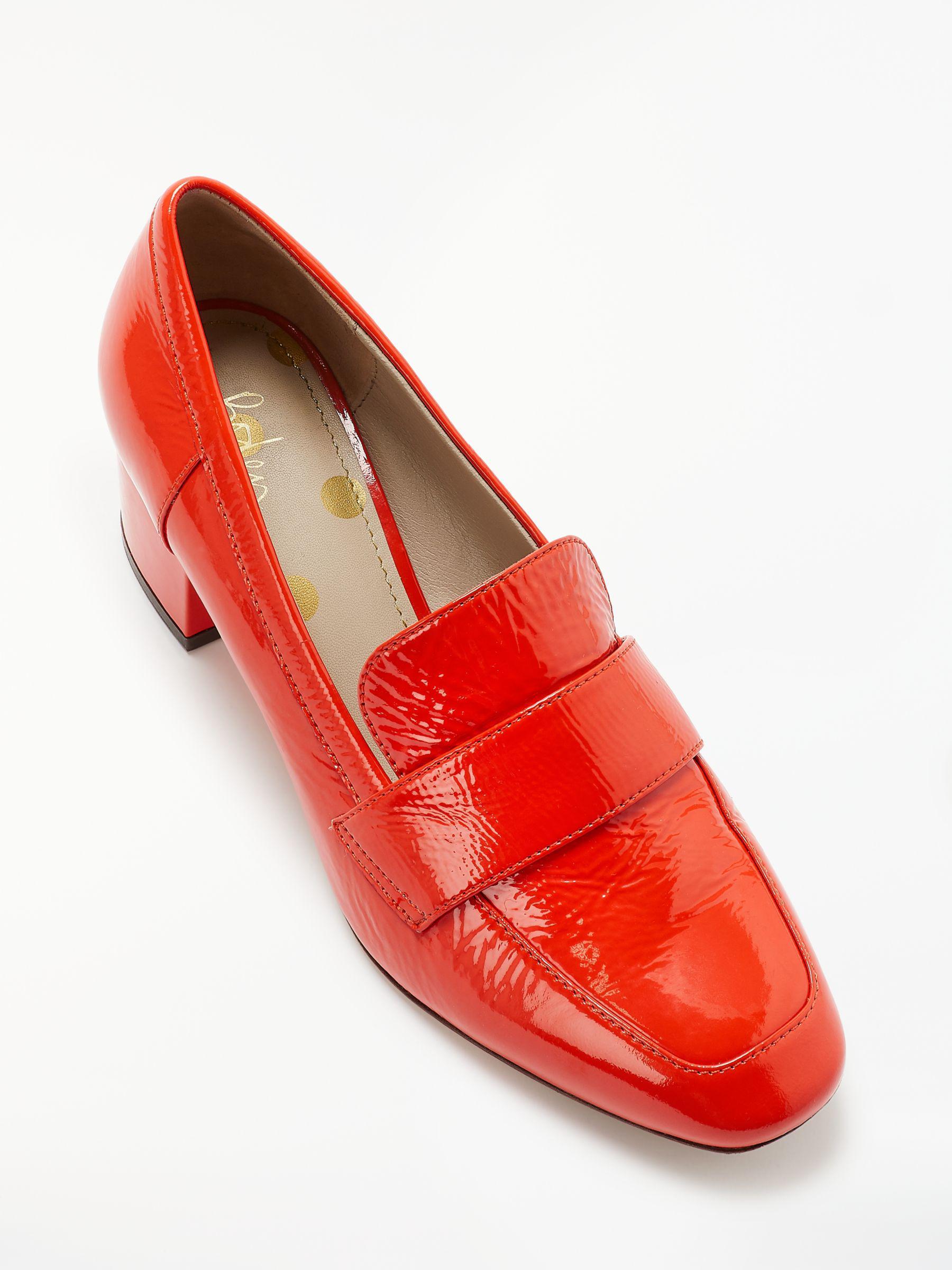 9de70ca92f6 Boden Alicia Block Heel Loafers in Red - Lyst
