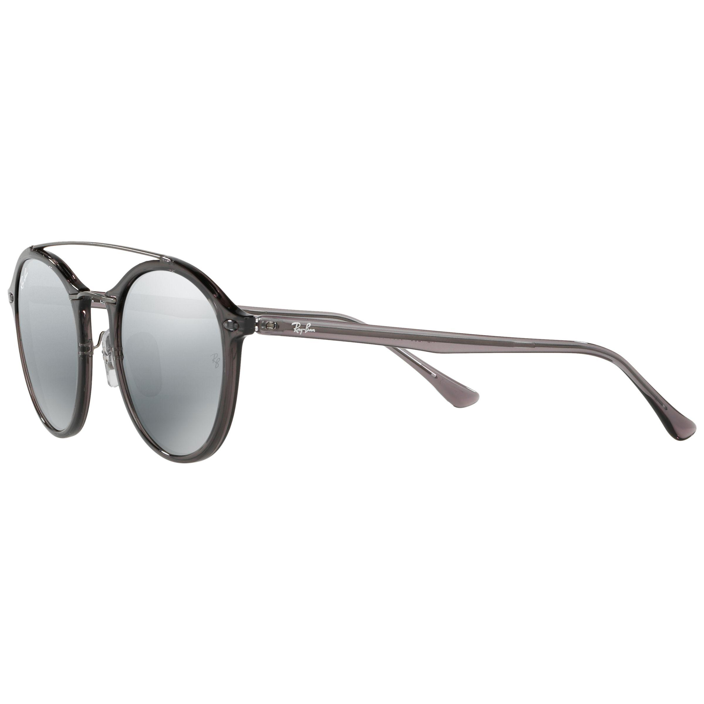 5f7d9f14f0 Ray-Ban Rb4266 Oval Sunglasses in Gray - Lyst