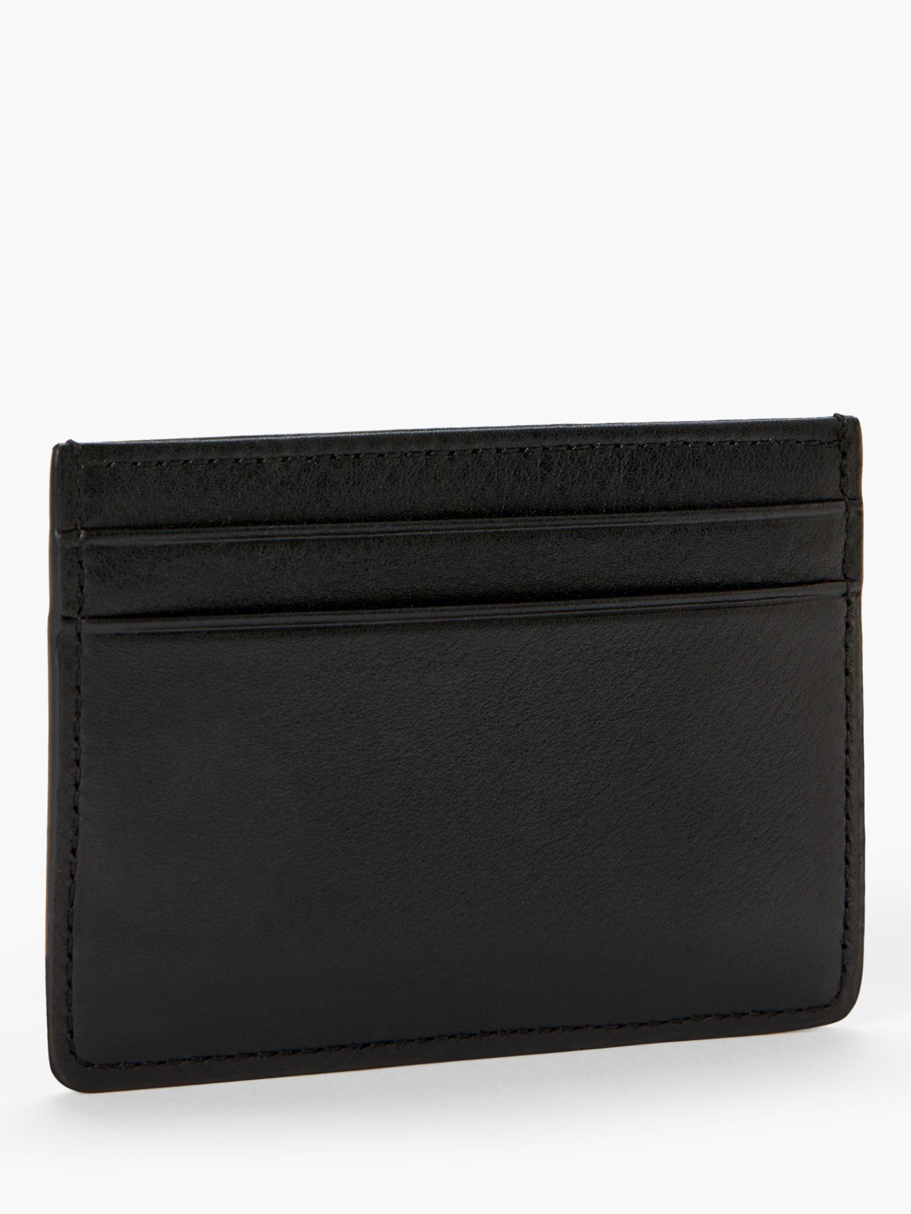 cb7dd6b367 BOSS Boss Majestic Nappa Leather Six Slot Card Holder in Black for ...