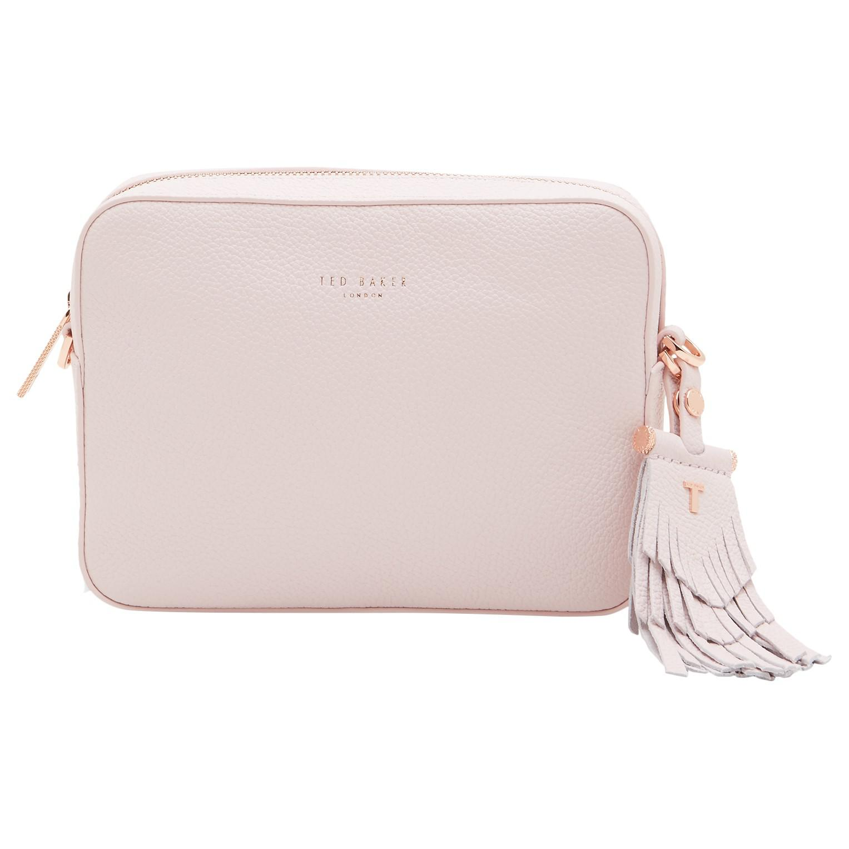 7e2afd806c728 Ted Baker Camisa Leather Tassel Camera Bag in Pink - Lyst