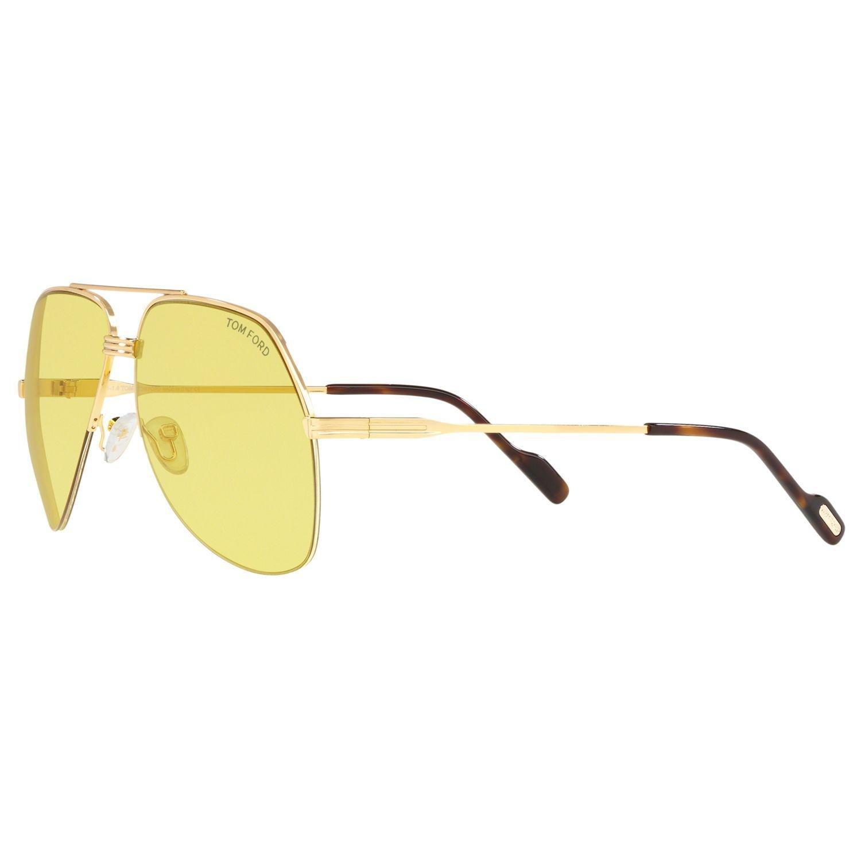 b42dd197dd7 Tom Ford Ft0644 Wilder Men s Aviator Sunglasses for Men - Lyst