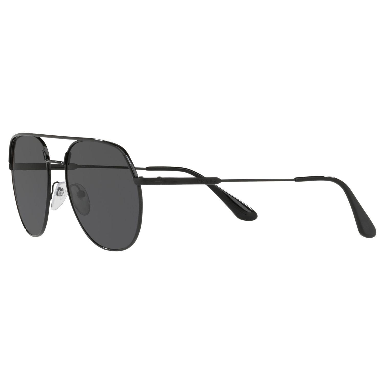 a9237f93b0fe4 Prada - Black 55us 57 Men s Polarised Aviator Sunglasses for Men - Lyst.  View fullscreen