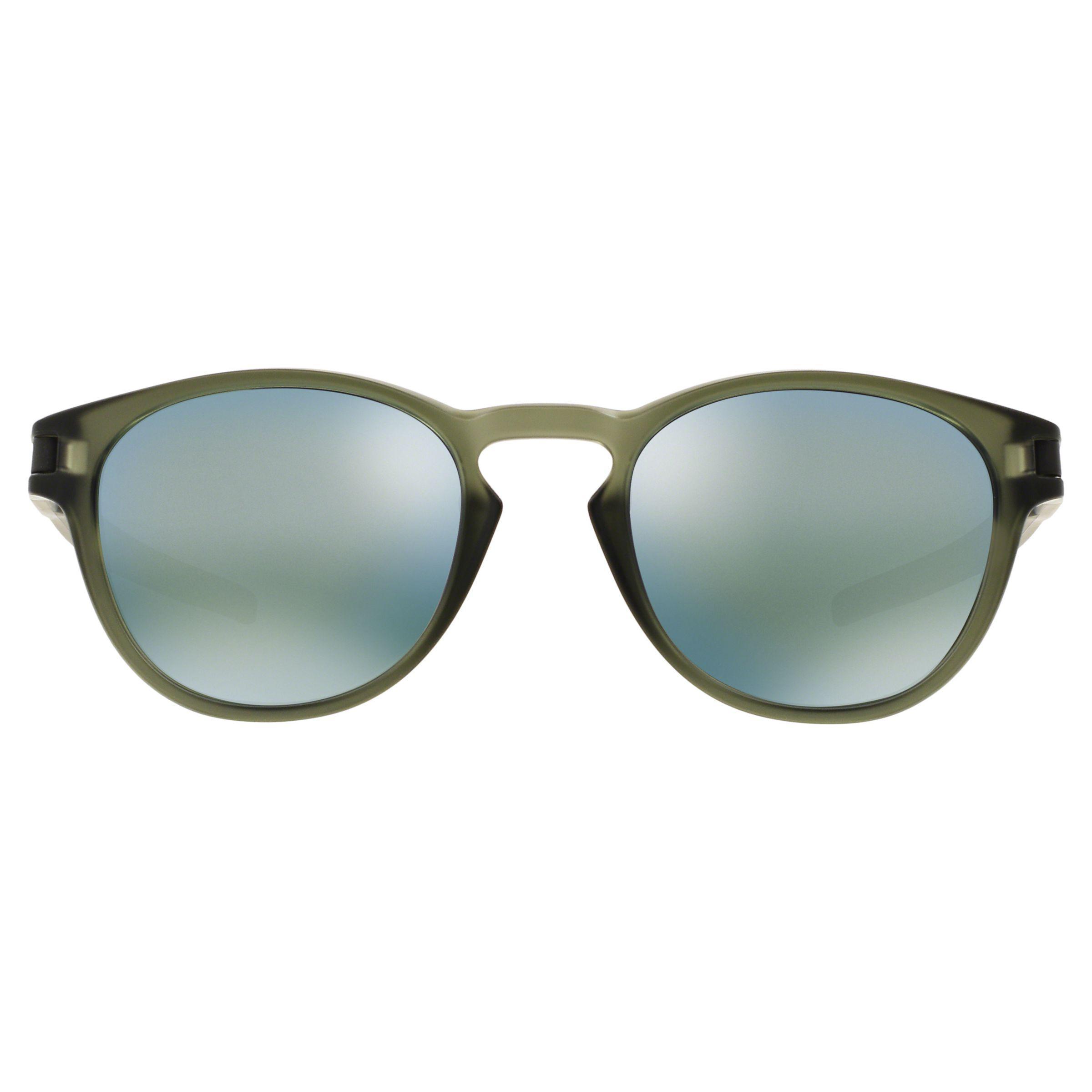05b040ca676 Oakley Oo9265 Men s Latch Round Sunglasses in Green for Men - Lyst