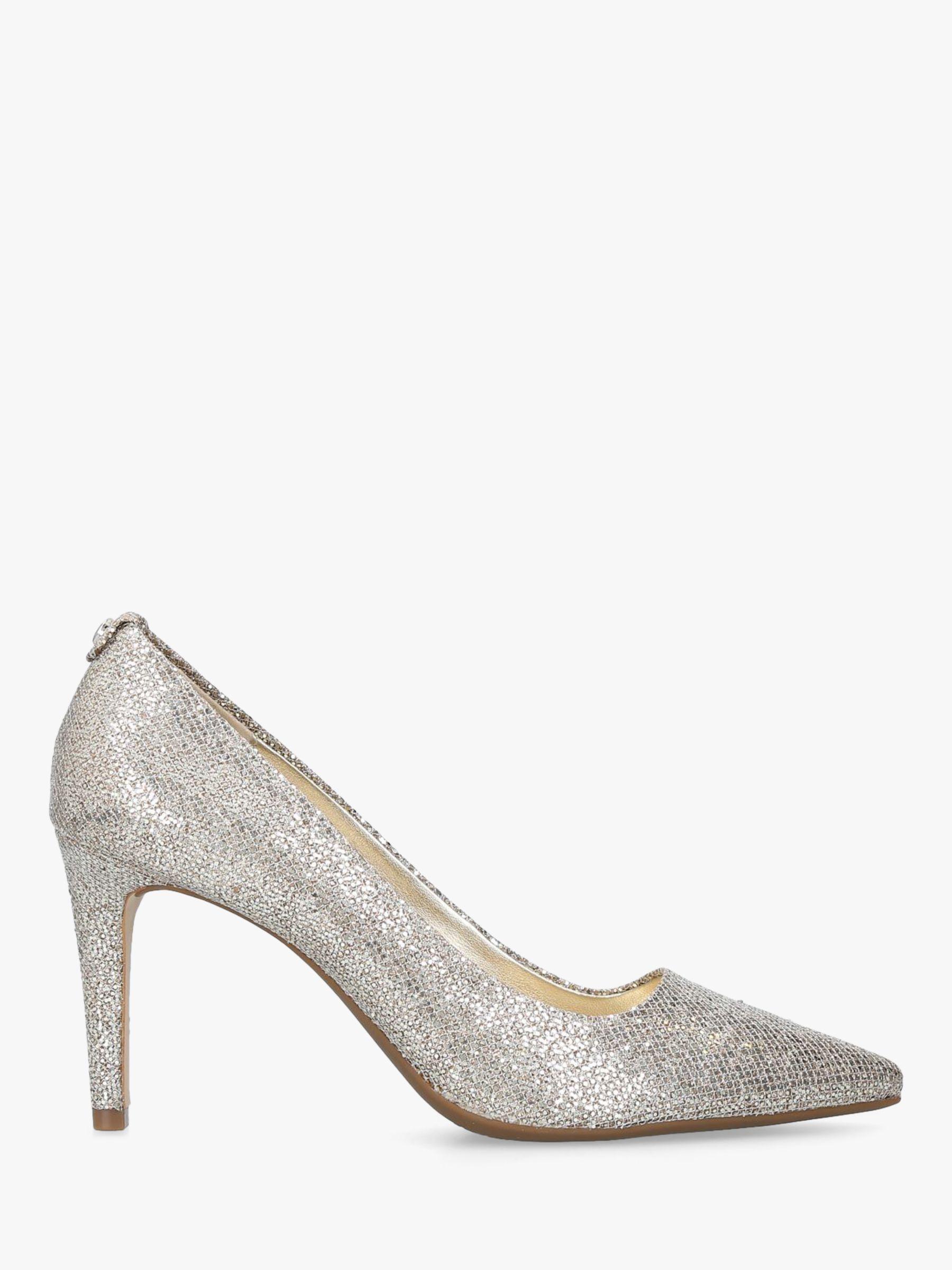 ed06c159c92 Michael Kors Michael Dorothy Flex Pointed Court Shoes in Metallic - Lyst