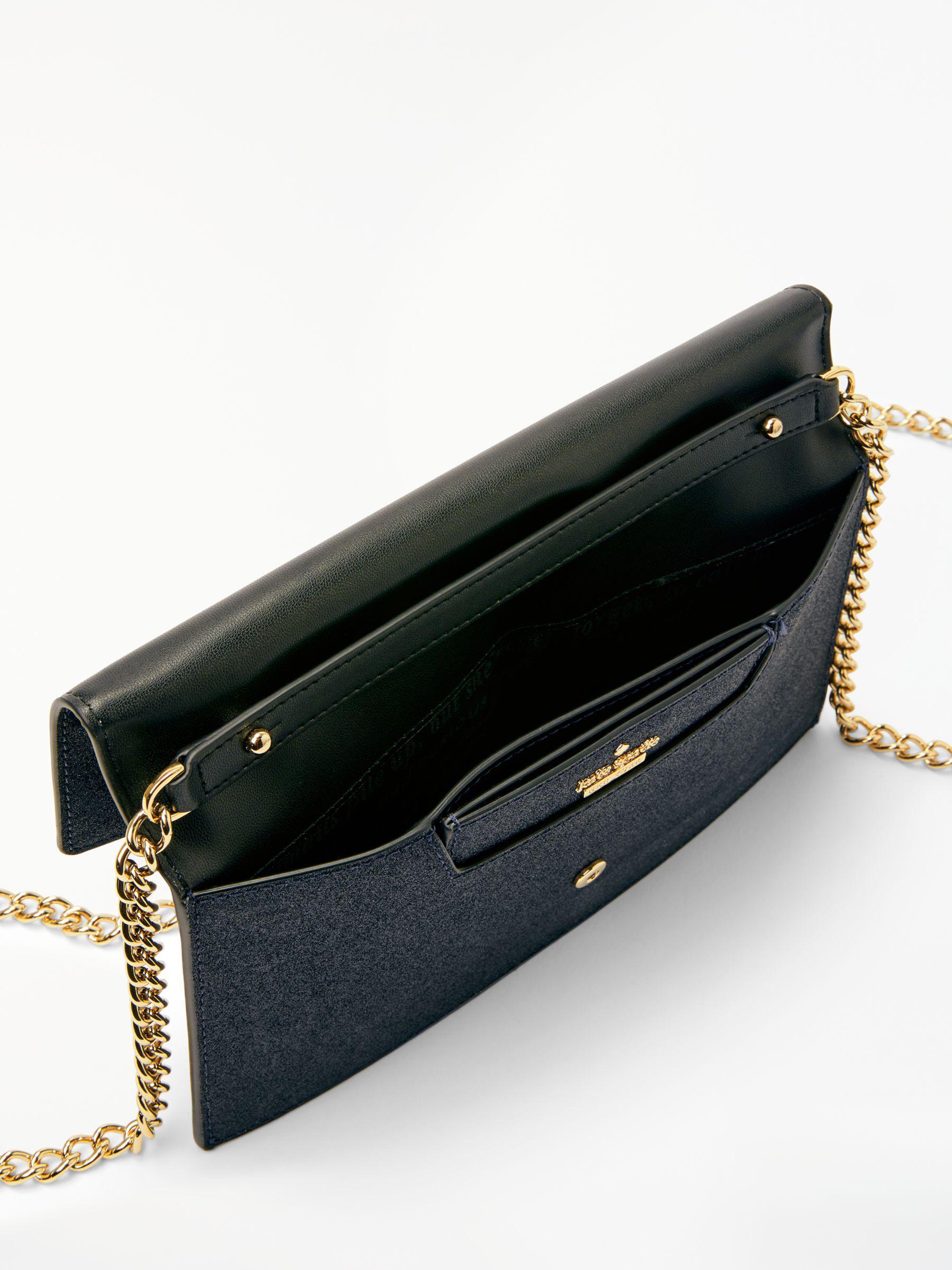 de4cb99ce5 Kate Spade Burgess Court Brennan Leather Foldover Purse in Blue - Lyst