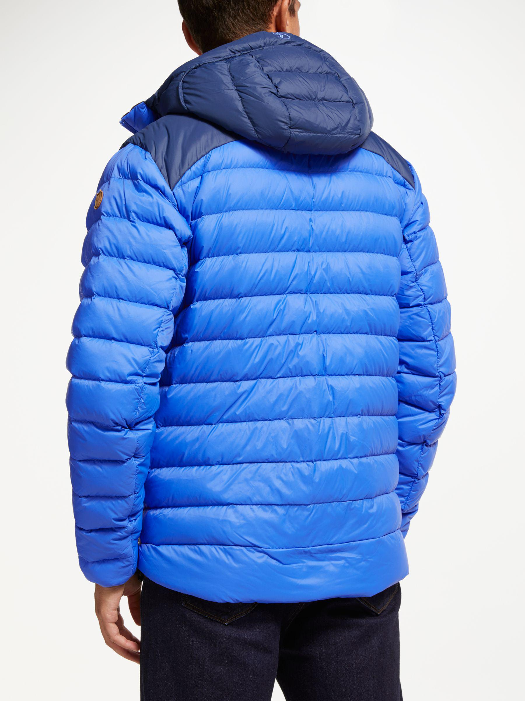 10705af74d Fjallraven - Blue Keb Touring Down Puffer Jacket for Men - Lyst. View  fullscreen