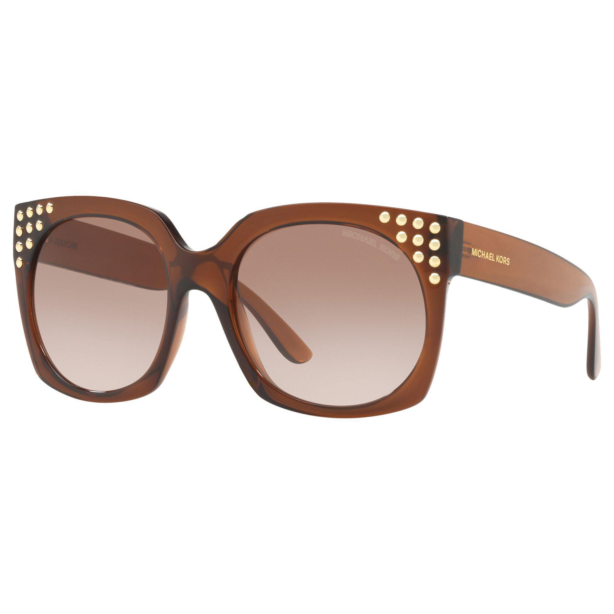 237bb78b63d8c Michael Kors Mk2067 Women s Destin Studded Square Sunglasses in ...