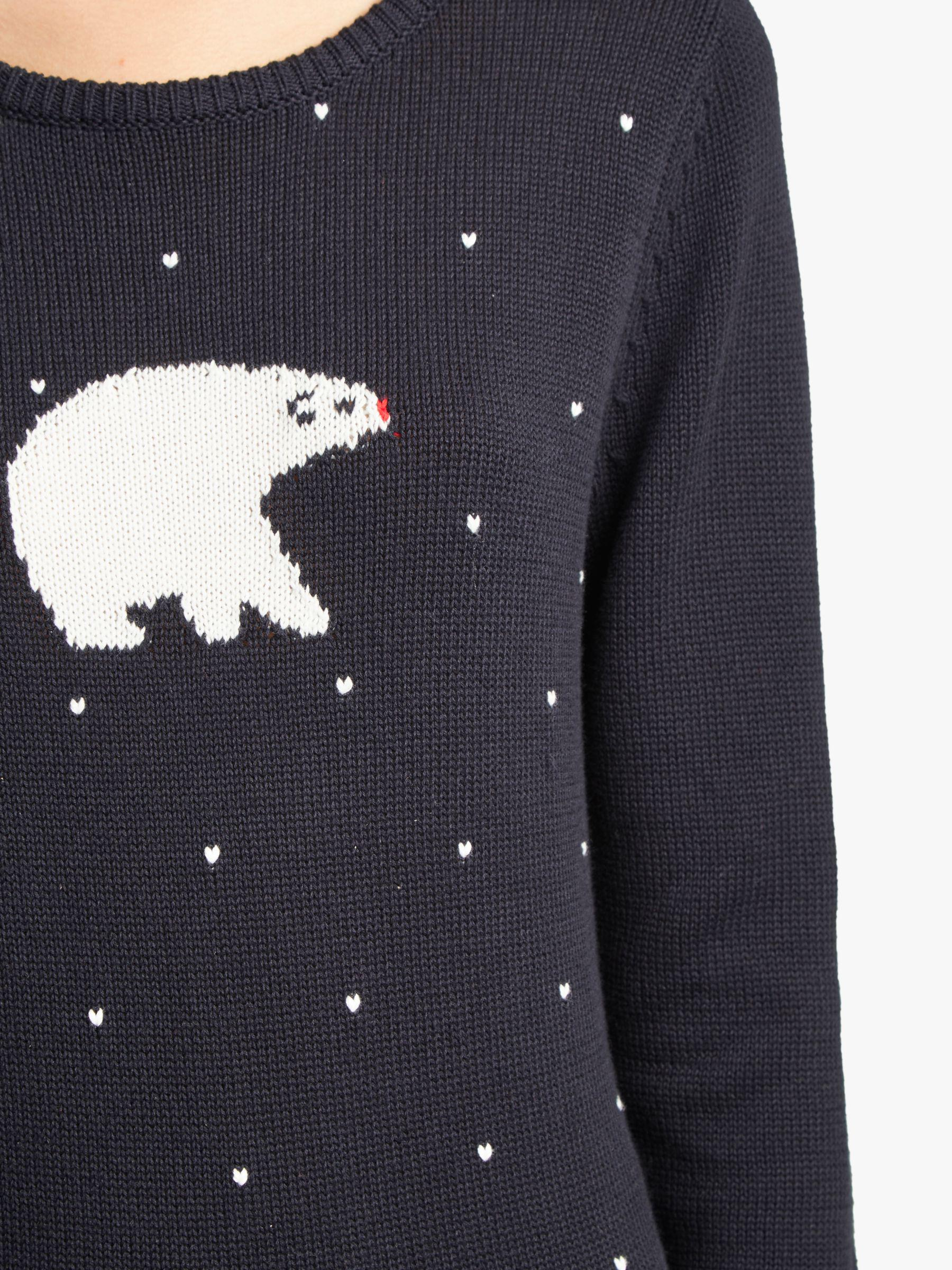 de66640517a French Connection Polar Bear Knit Jumper in Blue - Lyst