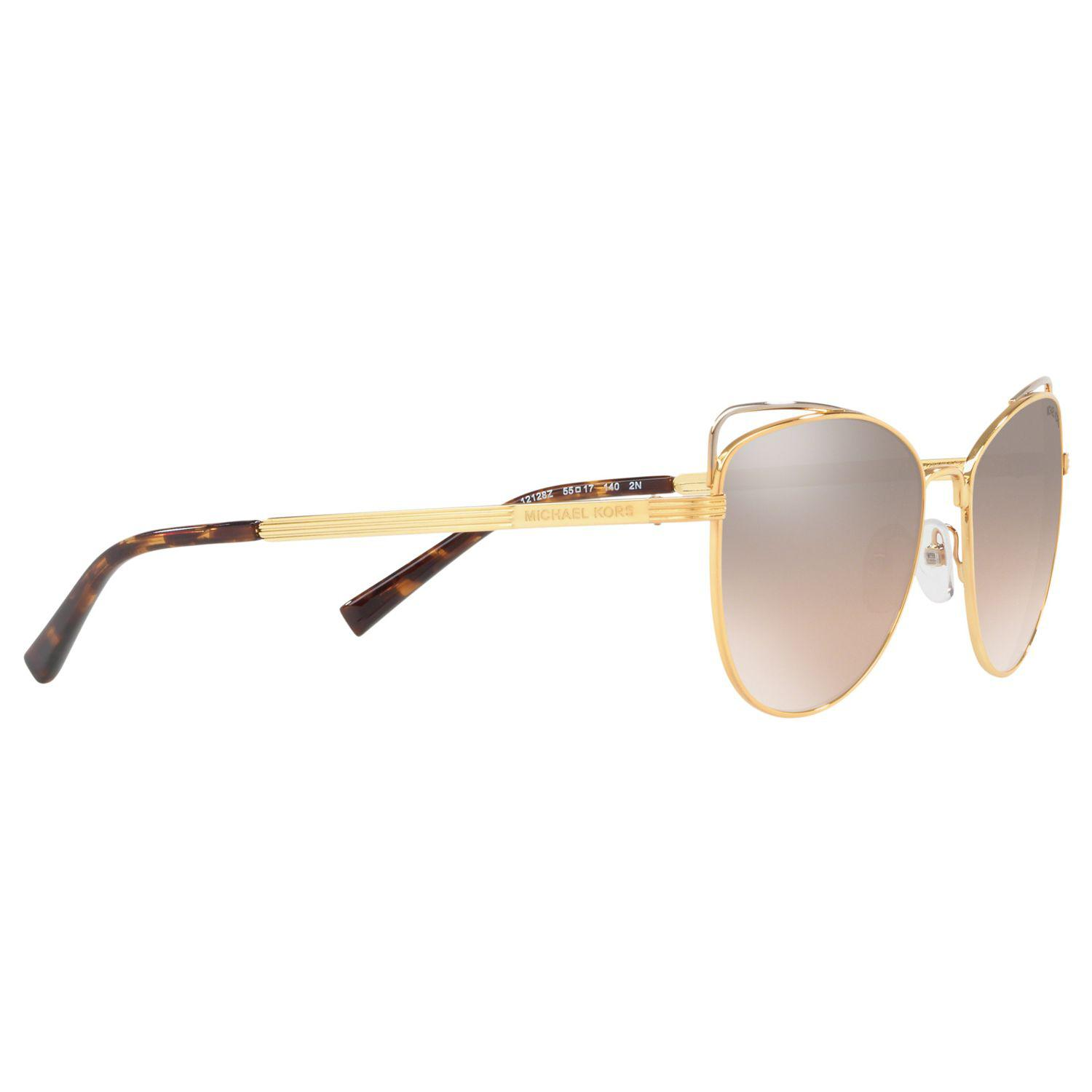 13424f46d11 Michael Kors Mk1035 Women s St. Lucia Cat s Eye Sunglasses in ...