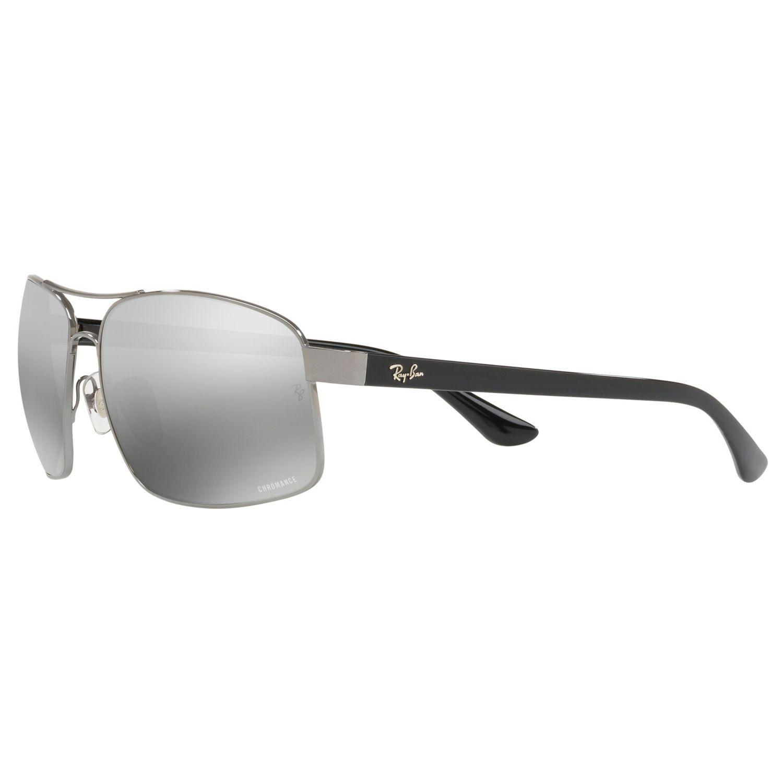 ee6fcc1d29 Ray-Ban - Gray Rb3604 Men s Square Sunglasses for Men - Lyst. View  fullscreen