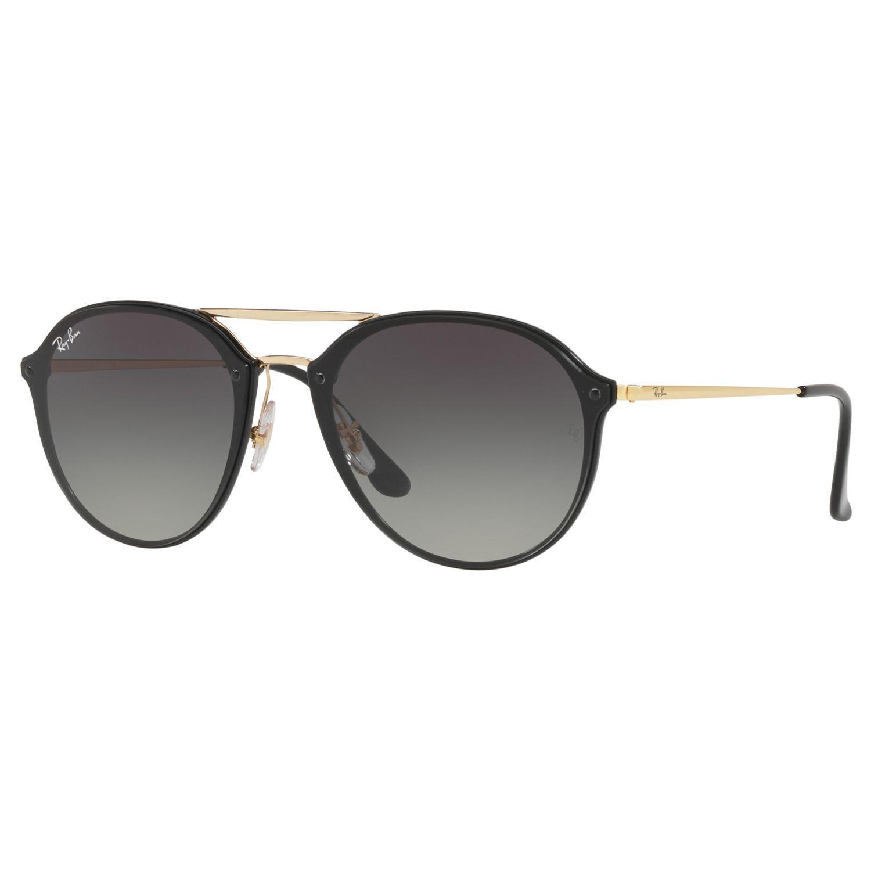 4d2b8ab9d476e Ray-Ban Rb4292n Blaze Double Bridge Oval Sunglasses - Lyst