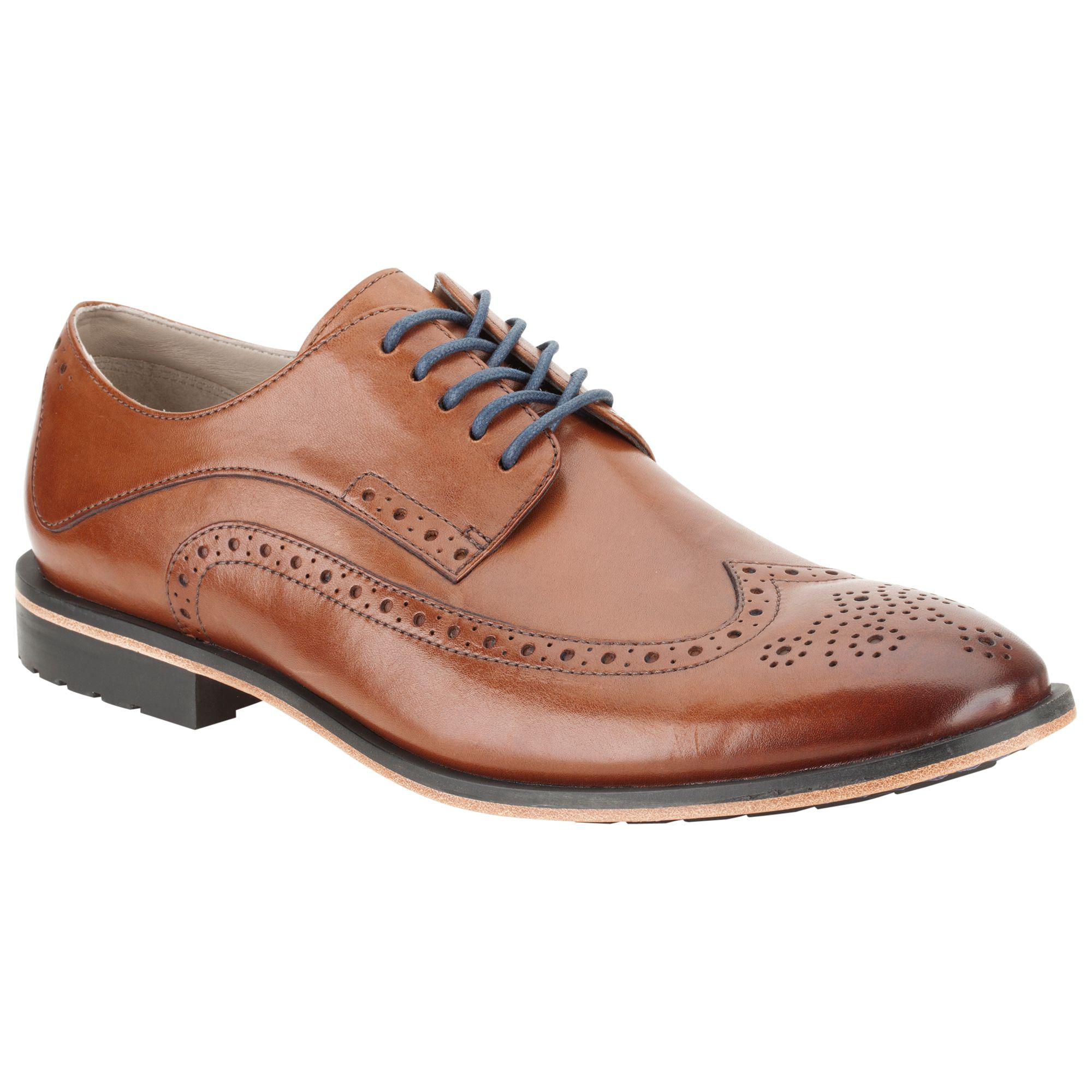 ca319b60b4 Clarks Gatley Limit Leather Brogue Derby Shoes in Brown for Men - Lyst