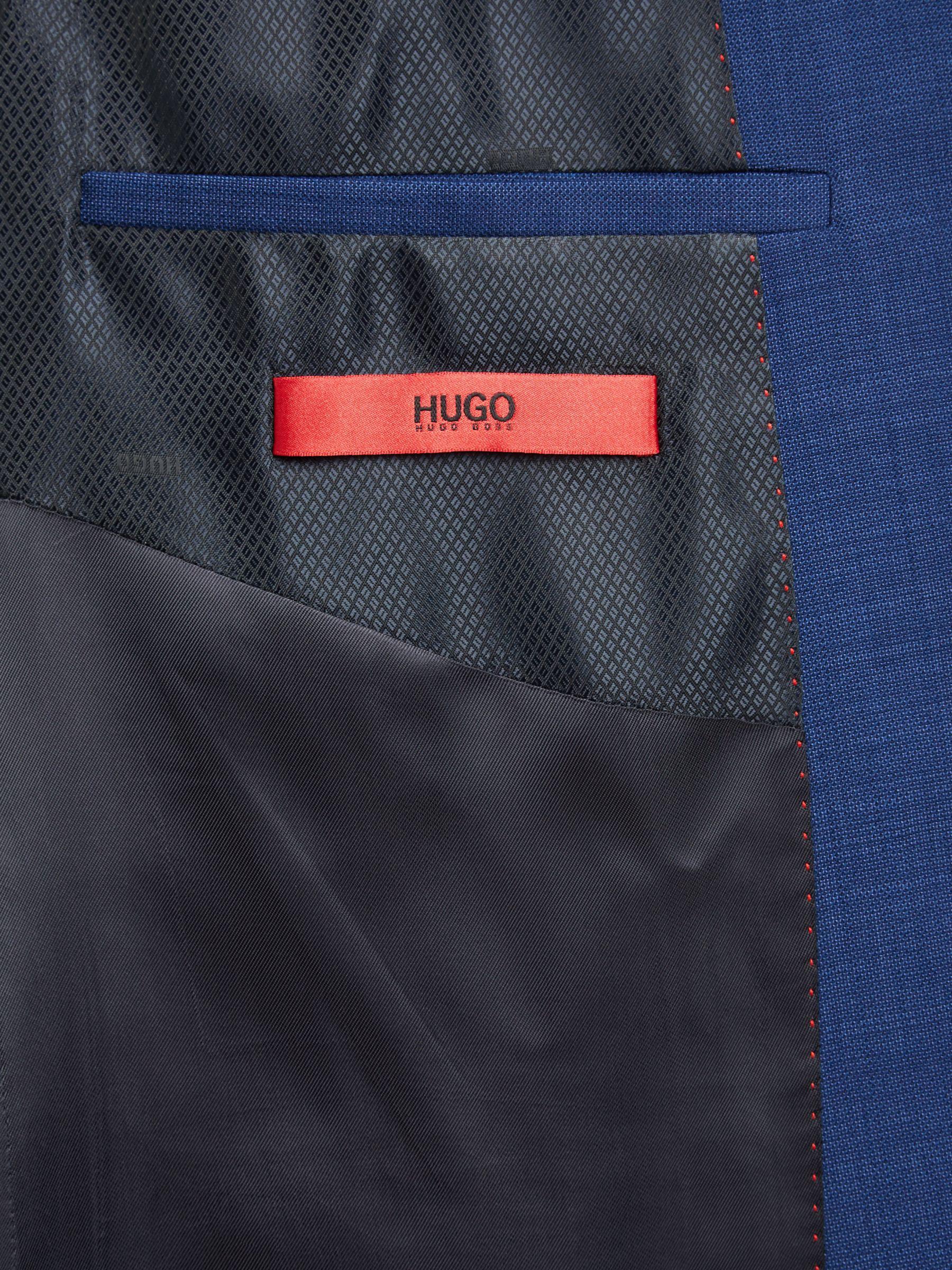 593c811e5 BOSS Hugo By Henry/griffin Virgin Wool Slim Fit Suit Jacket in Blue ...