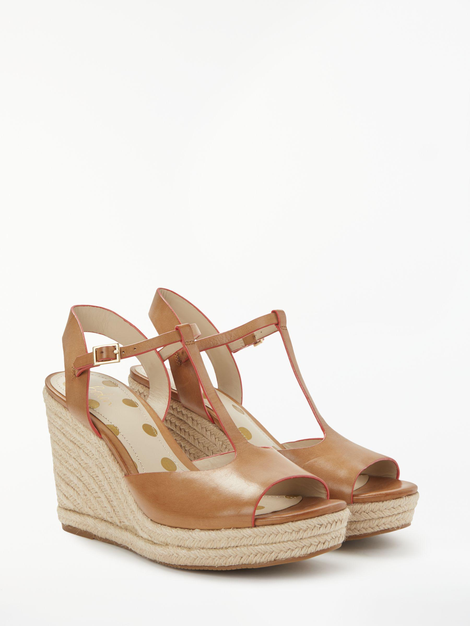 326e0fd3091 Boden Carrie Espadrille Wedge Heel Sandals in Brown - Lyst
