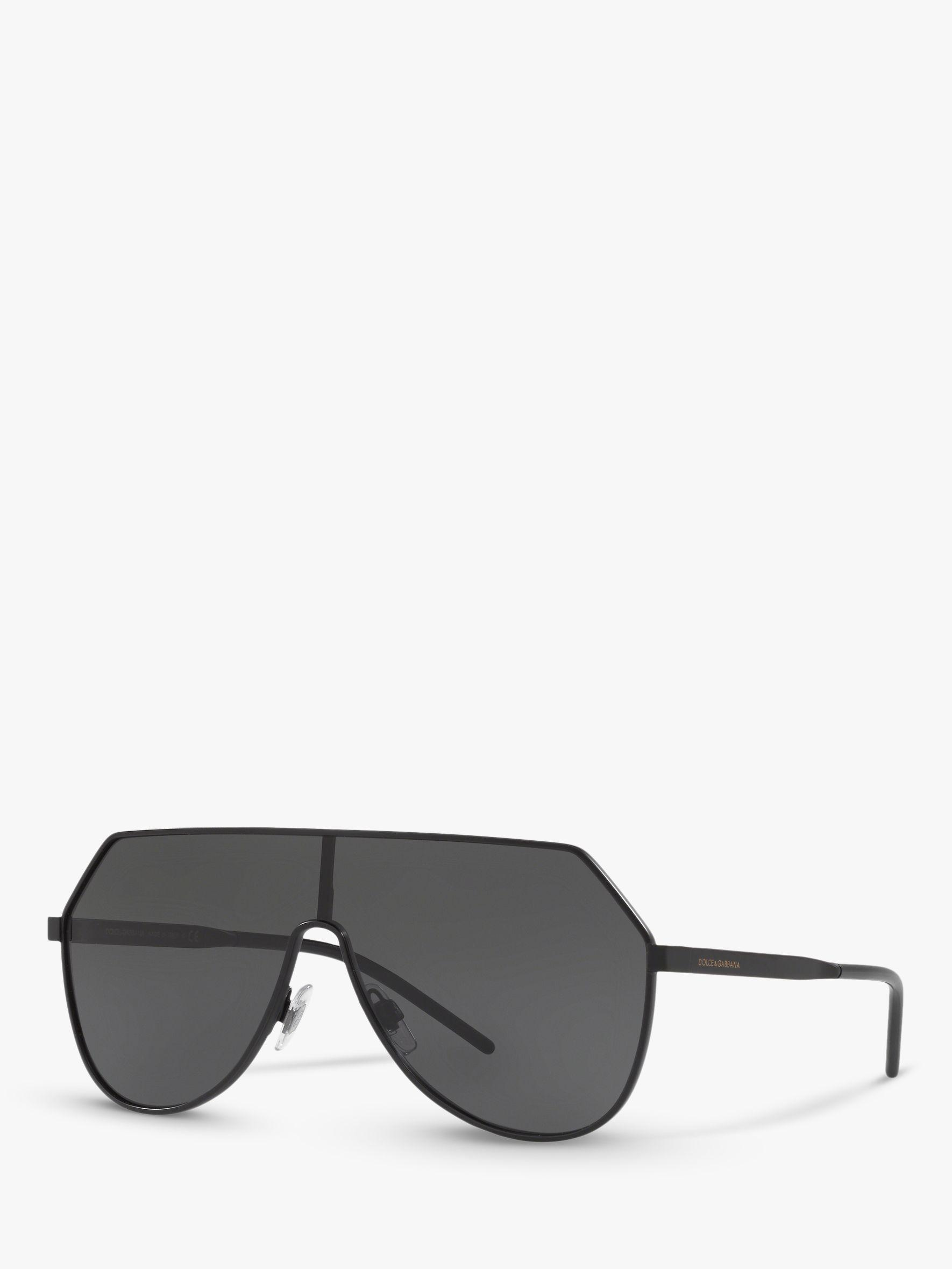5a12805834460 Dolce   Gabbana. Black Dg2221 Men s Aviator Sunglasses. £232 From John Lewis  and Partners