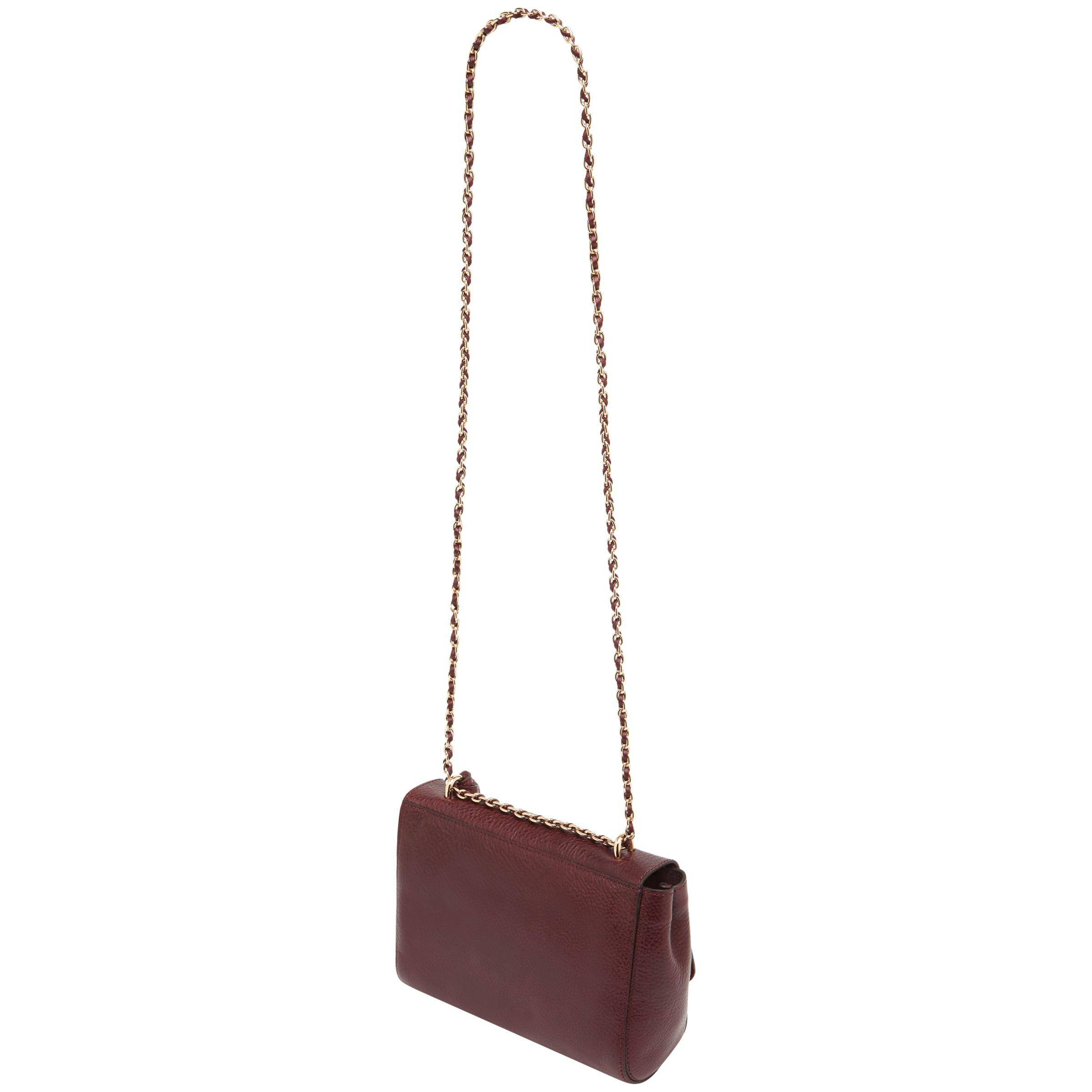ccc3f3d42c ... classic grain lily mulberry  john lewis multicolor mulberry lily small  leather shoulder bag lyst. view fullscreen