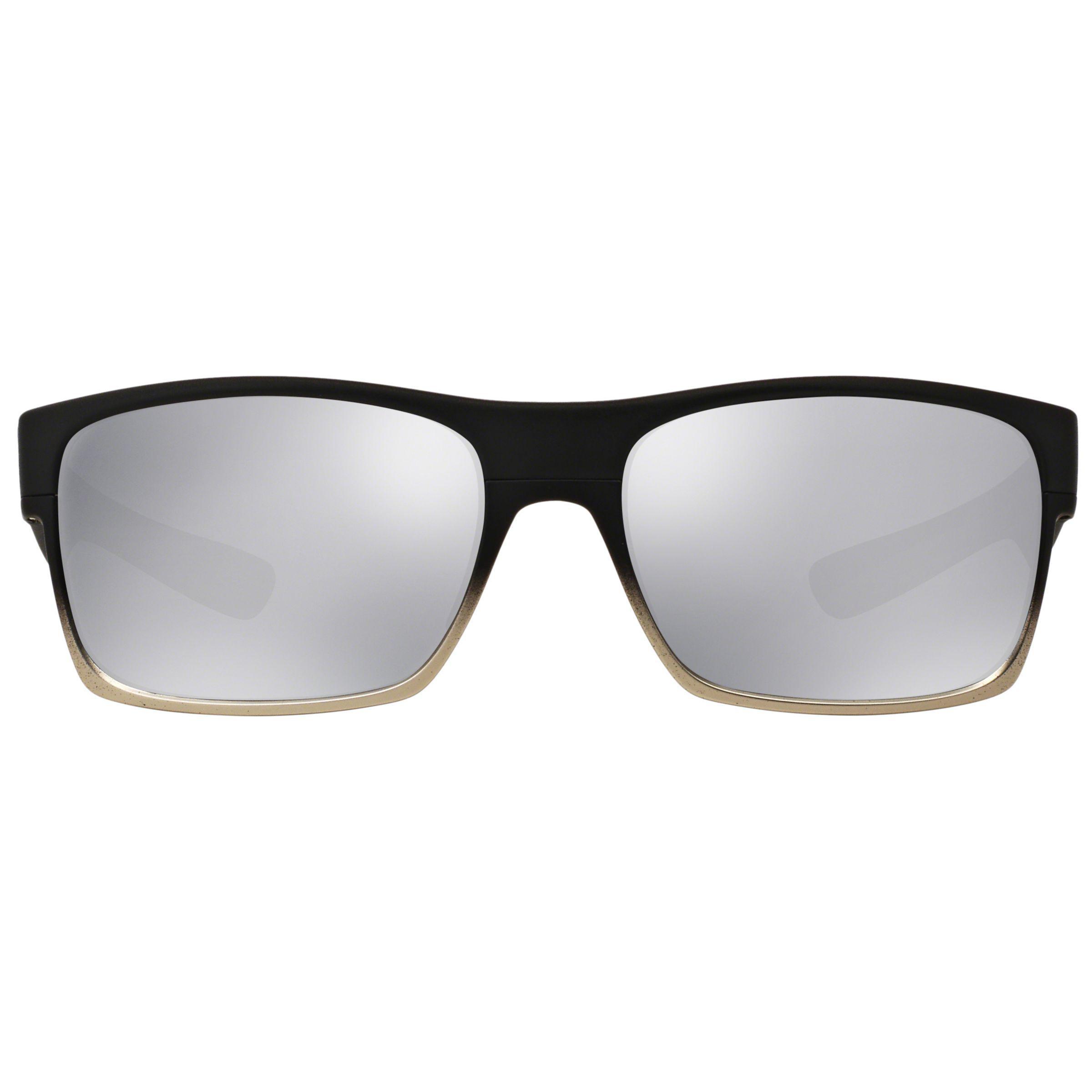 7ae56ec073 Oakley Oo9189 Two Face Rectangular Sunglasses in Black for Men - Lyst